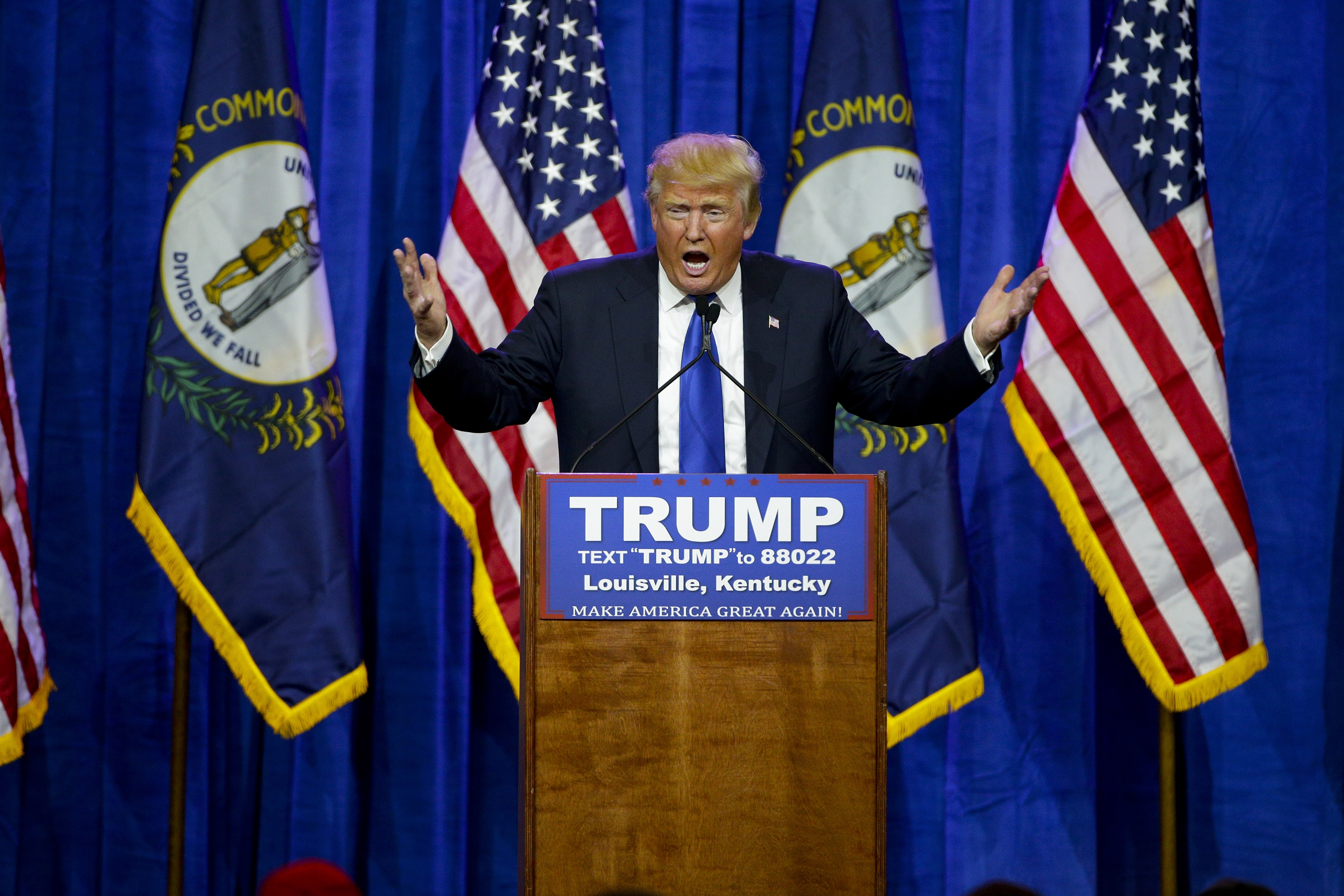 Donald Trump continued his run to the Republican presidential nomination by winning seven states on Super Tuesday. (Tribune New Service photo)