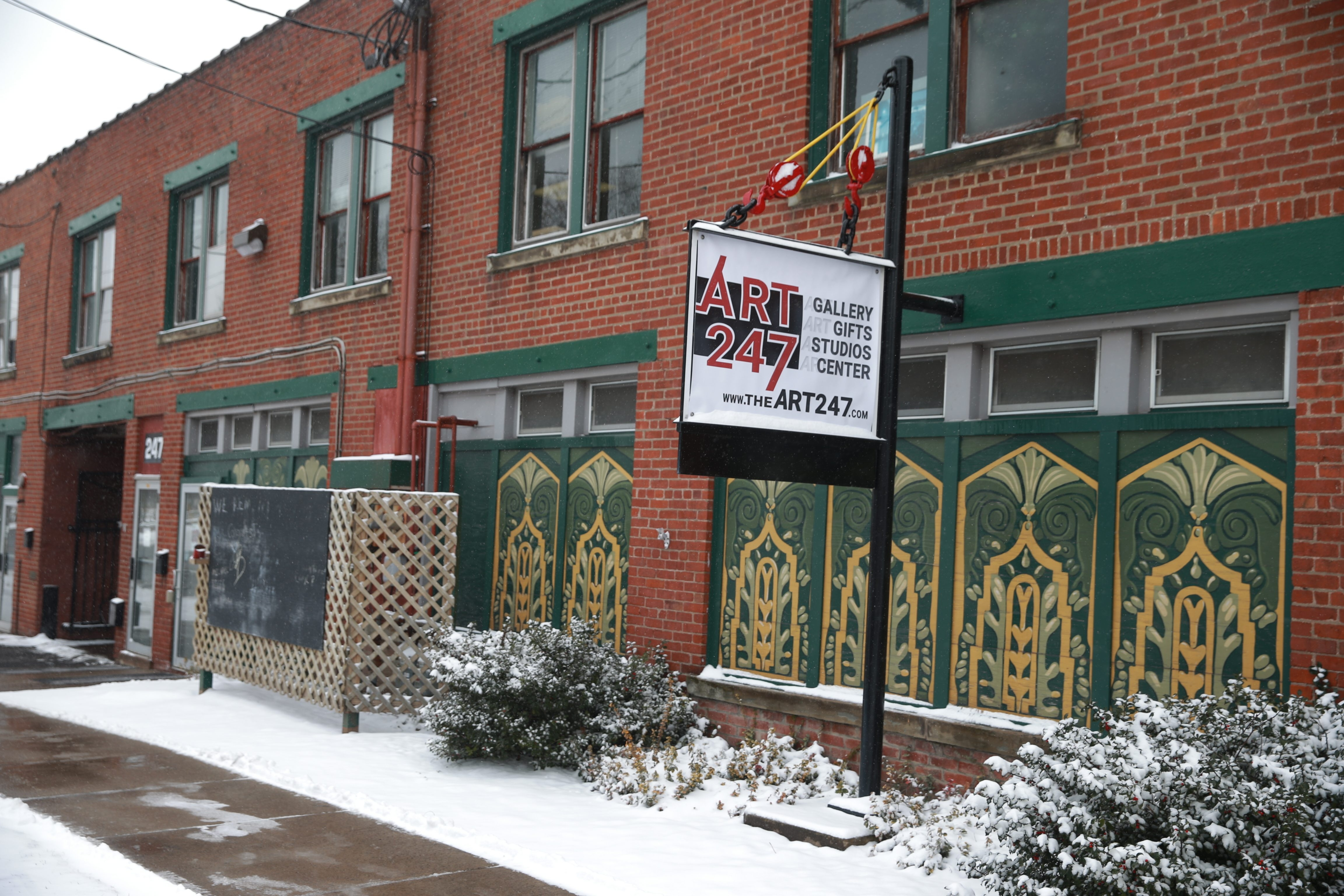 Lockport's Market Street Art Center is now called Art 247. New owner Heather Grimmer envisions the space housing a community events center as well as studio space.