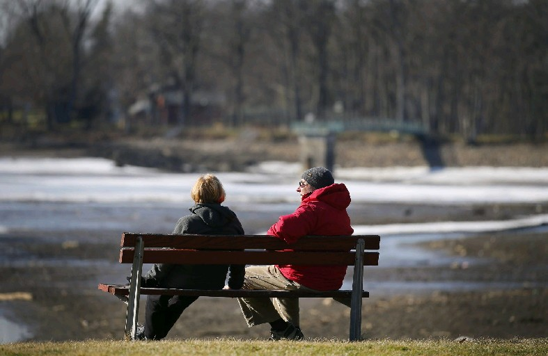 A warmup into the upper 40s in Buffalo is expected by midweek. (Mark Mulville/News file photo)