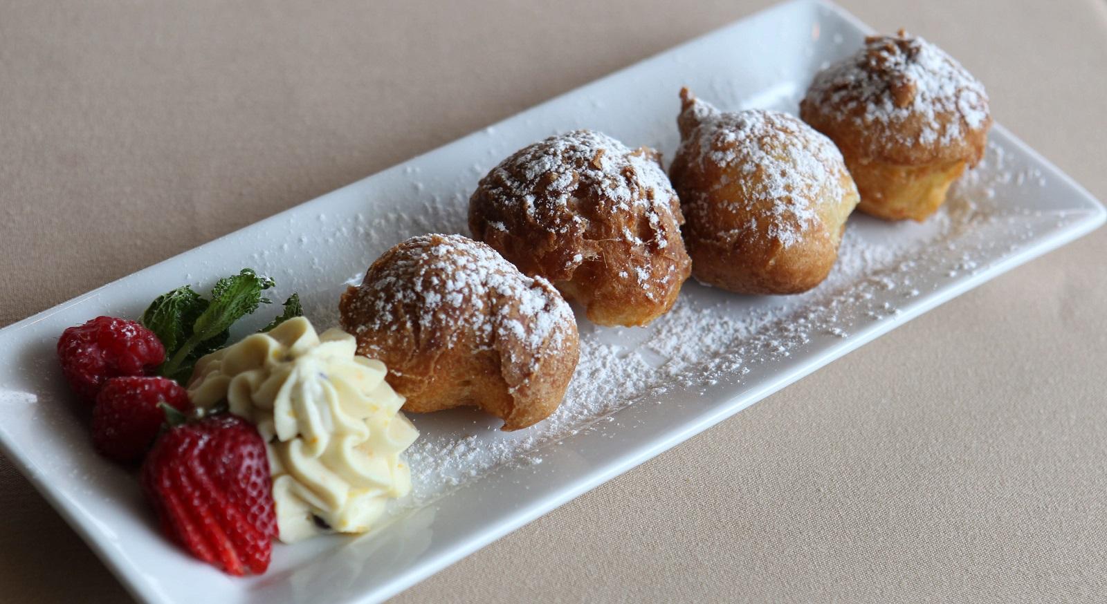 Sfinge is a popular dessert for St. Joseph's Day. This is Gigi's Cucina Povera's creation. (Sharon Cantillon/Buffalo News file photo)
