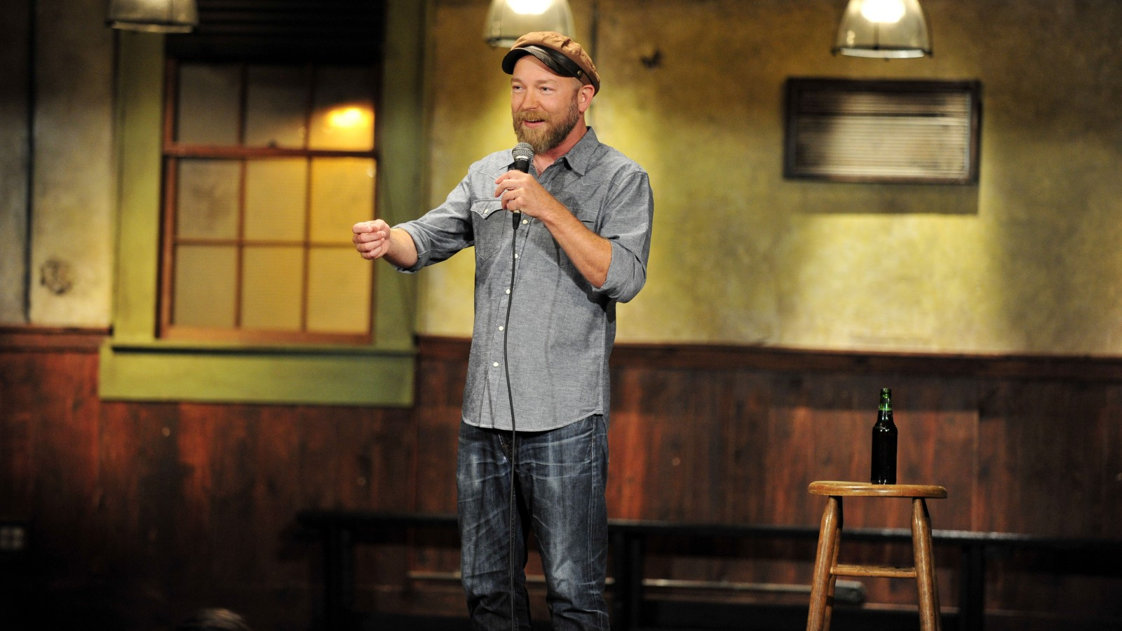 Kyle Kinane will be at Helium Comedy Club for five shows. (Photo by Moses Robinson)