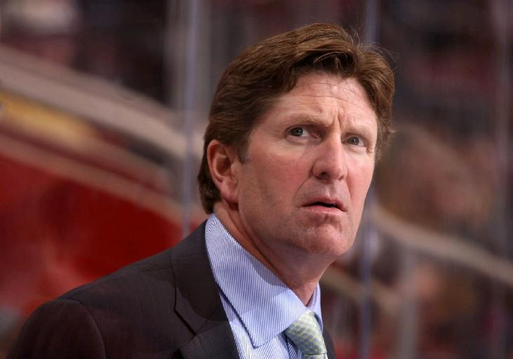 Leafs coach Mike Babcock