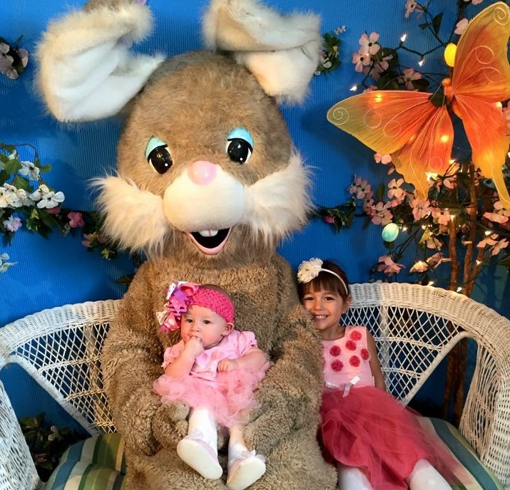 It is a great time to bring the cuties to see the Easter bunny! (Mary Friona-Celani/Special to The News)