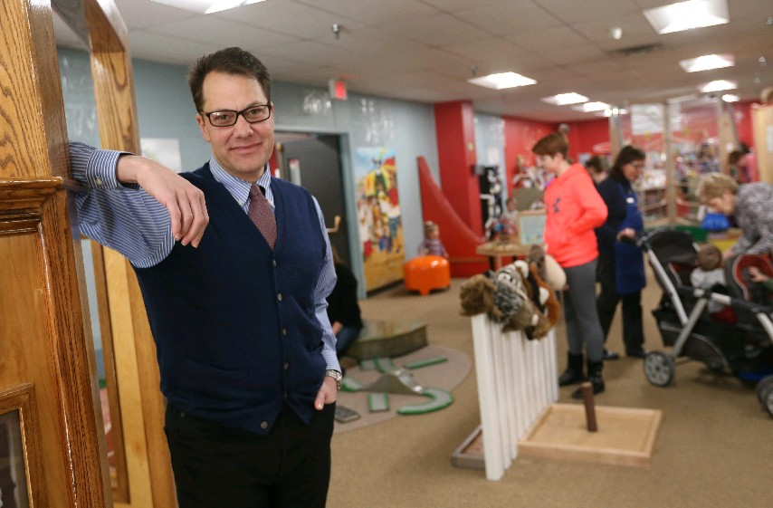 'Being in the middle of the city, I think we're going to have an opportunity to reach kids who are underserved,' says Douglas Love, Explore & More Children's Museum CEO.