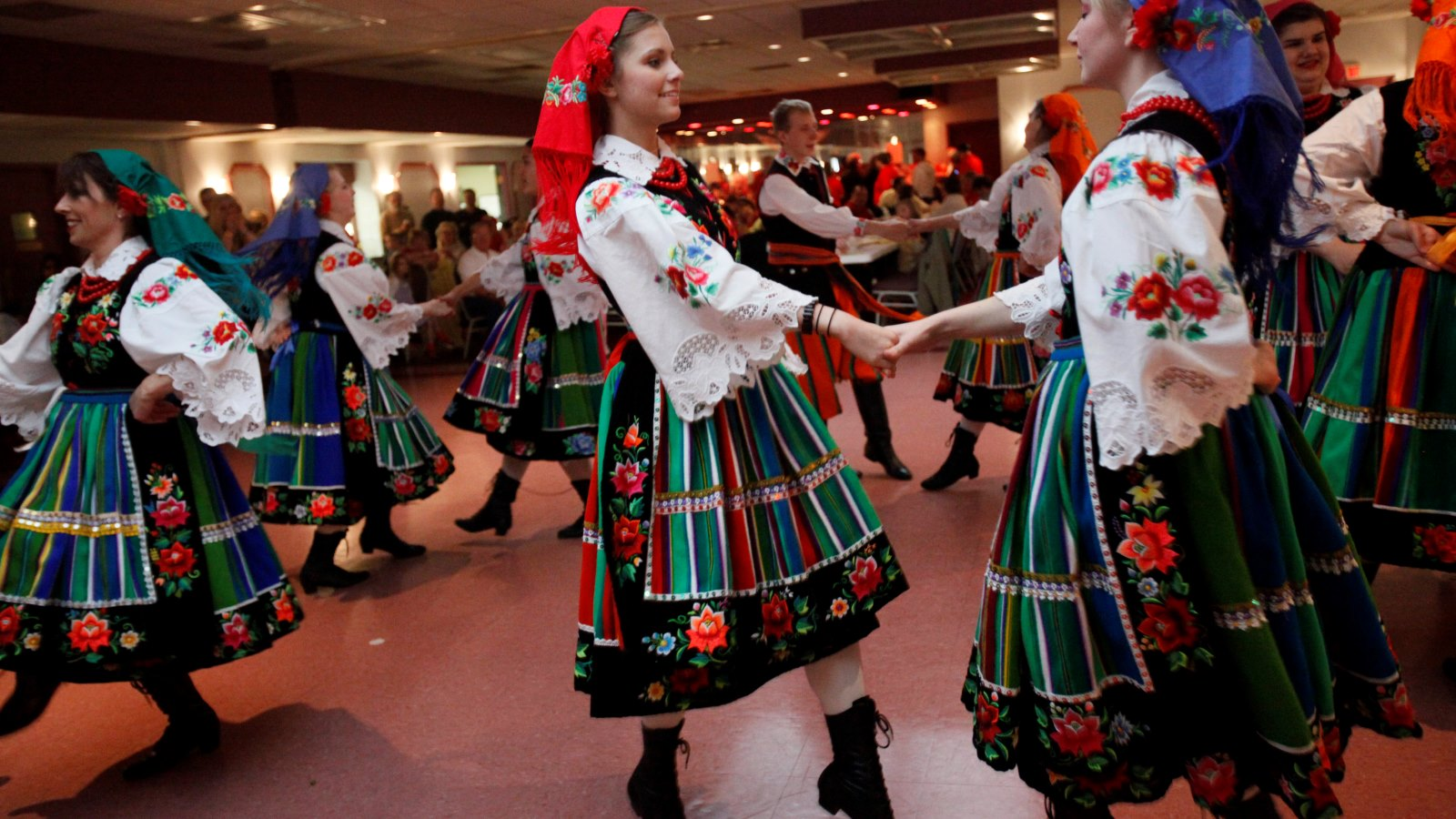 Polish heritage dancers are a staple at many Dyngus Day celebrations. (Derek Gee/News file photo)