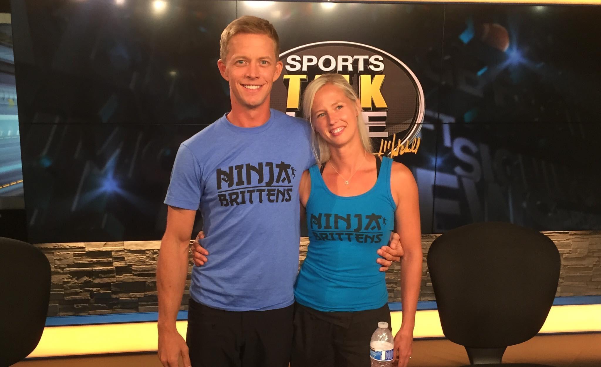 Geoff and Jessica Britten were among the stars on 'American Ninja Warrior' last season.