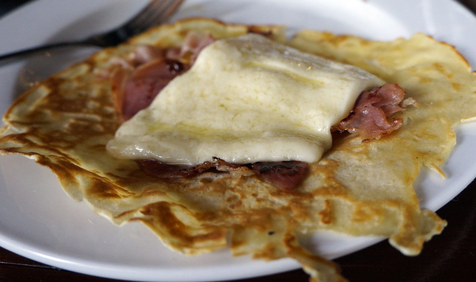 The finished progress of a raclette from Raclettes. (Lizz Schumer/Special to The News)