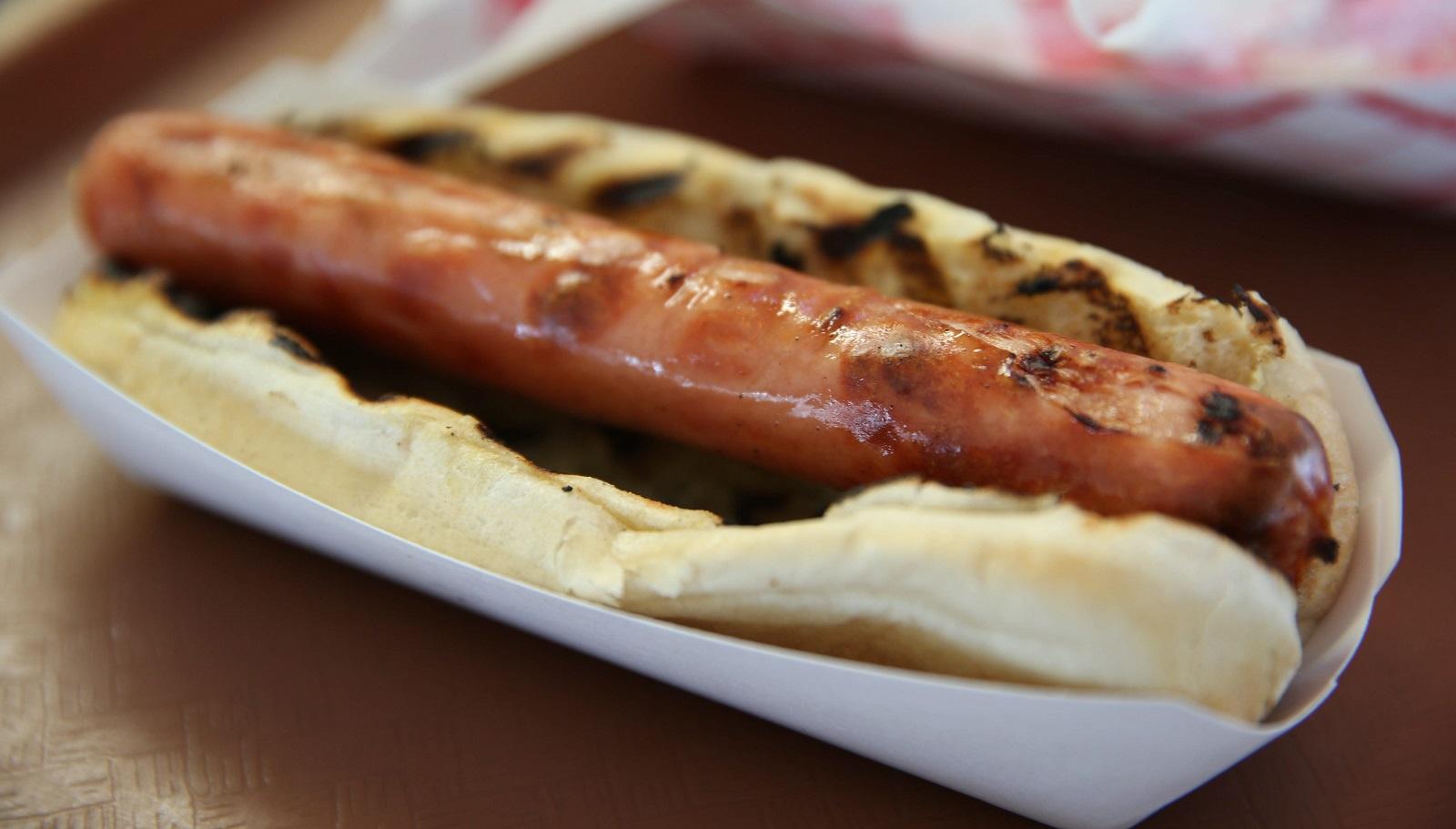Sahlen's hot dogs will be available at Buffalo's Famous. (Sharon Cantillon/Buffalo News)