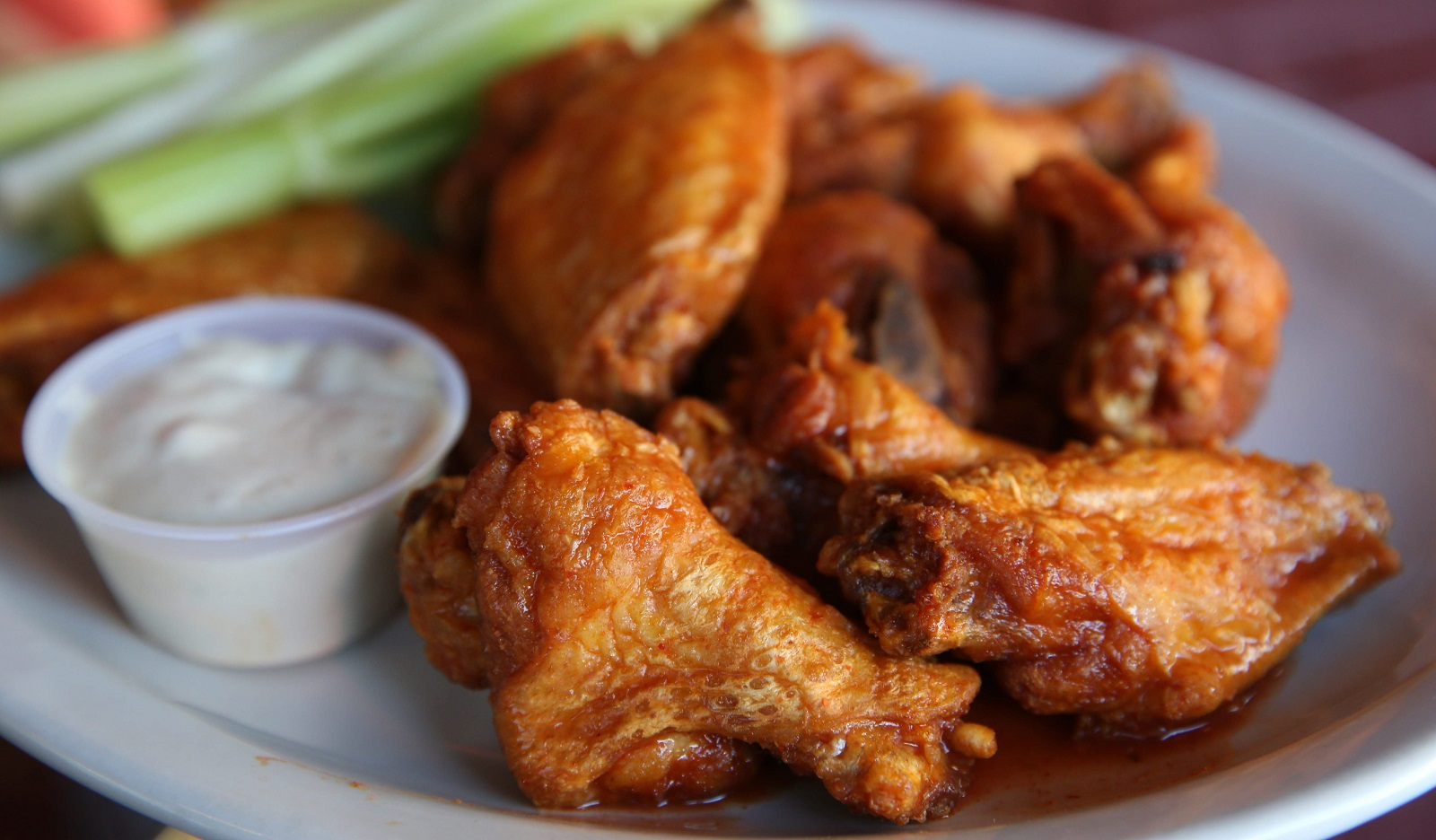The famous Anchor Bar wings. (Sharon Cantillon/Buffalo News file photo)