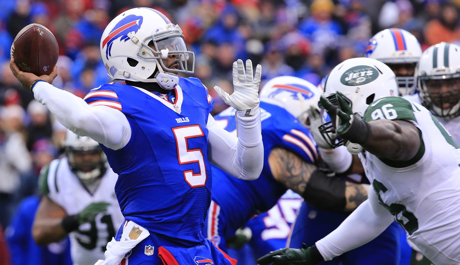 Examining what Rick Dennison's hiring might mean for Tyrod Taylor
