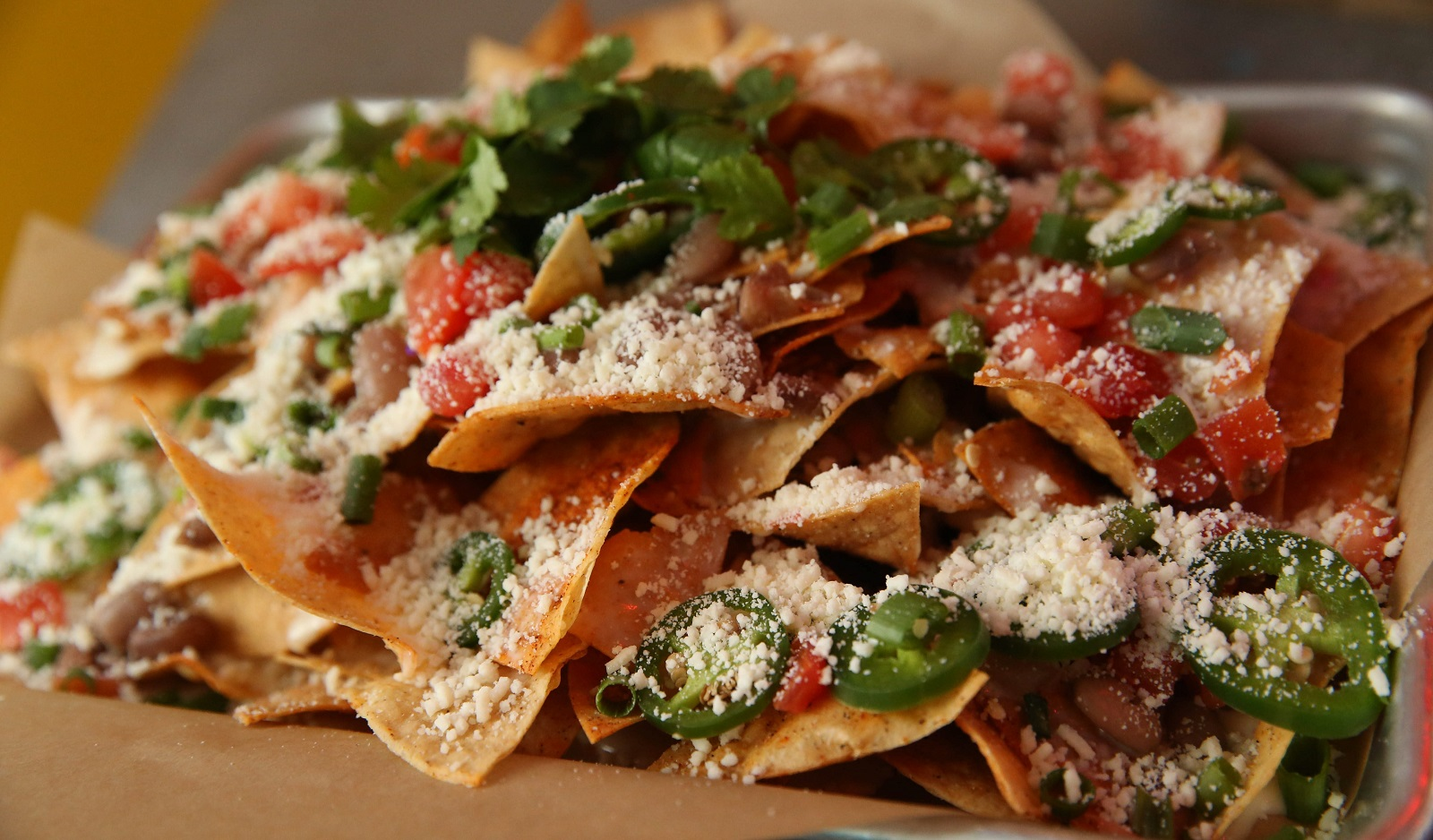 Deep South Taco's nacho platter will now be available on Transit Road. (Sharon Cantillon/Buffalo News file photo)