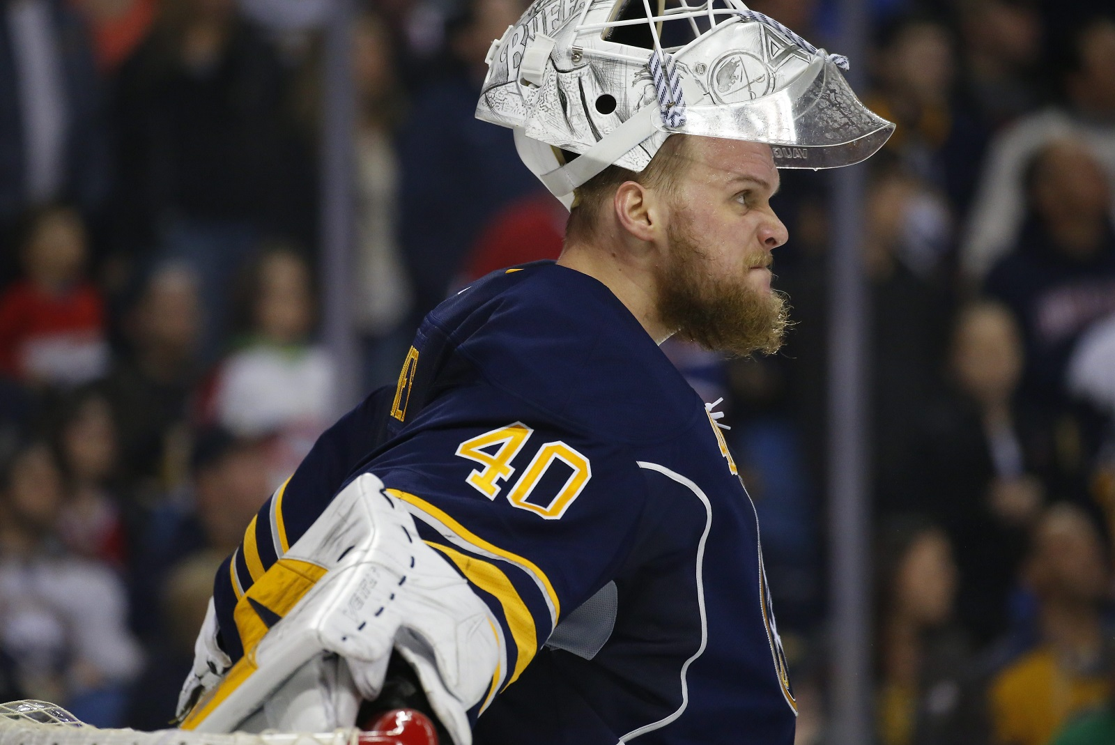 Robin Lehner (Mark Mulville/Buffalo News file photo)
