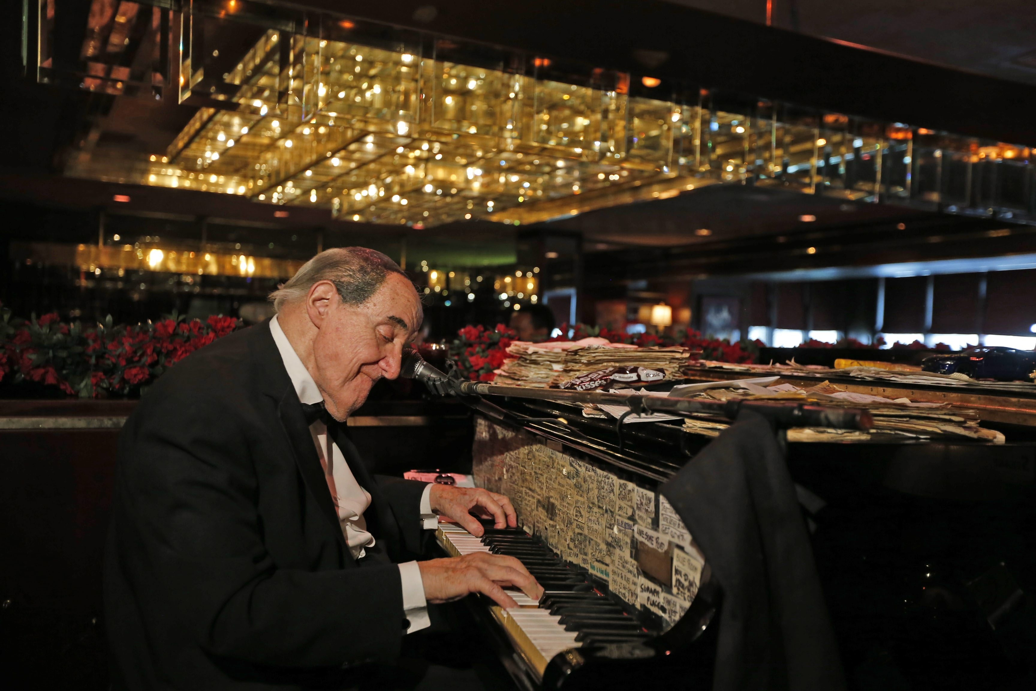 For Buffalo's legendary piano man Jackie Jocko, the show went on Thursday, despite the death of drummer Joe Peters, who Jocko called his partner in music and life. Jocko performed with his piano and sang supper-club classics at E.B. Green's.