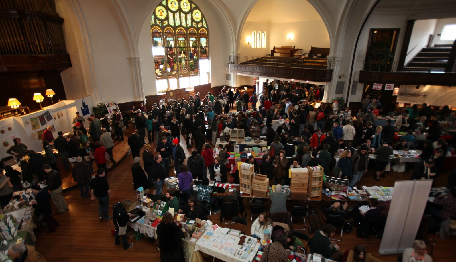 The Buffalo Small Press Book Fair returns to Karpeles Manuscript Museum for its final year. (Buffalo News file photo)