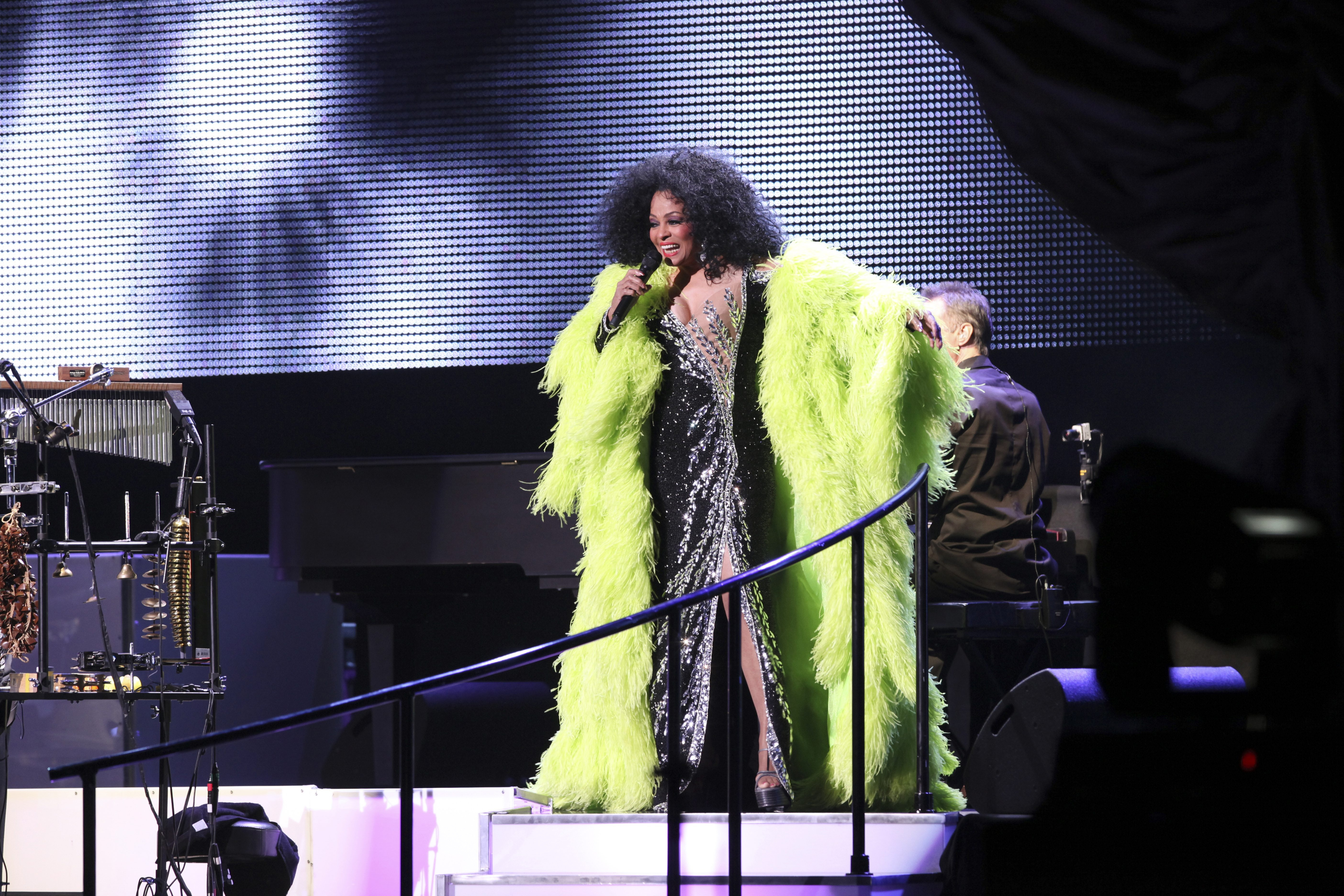 Diana Ross, shown performing in 2010, is one of the pillars of the Motown sound engineered by Berry Gordy. She comes to the Seneca Niagara Casino Events Center on Saturday.