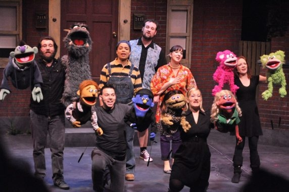 "MusicalFare Theatre's production of ""Avenue Q"" will be on stage in the 710 Main Theatre through April 24."
