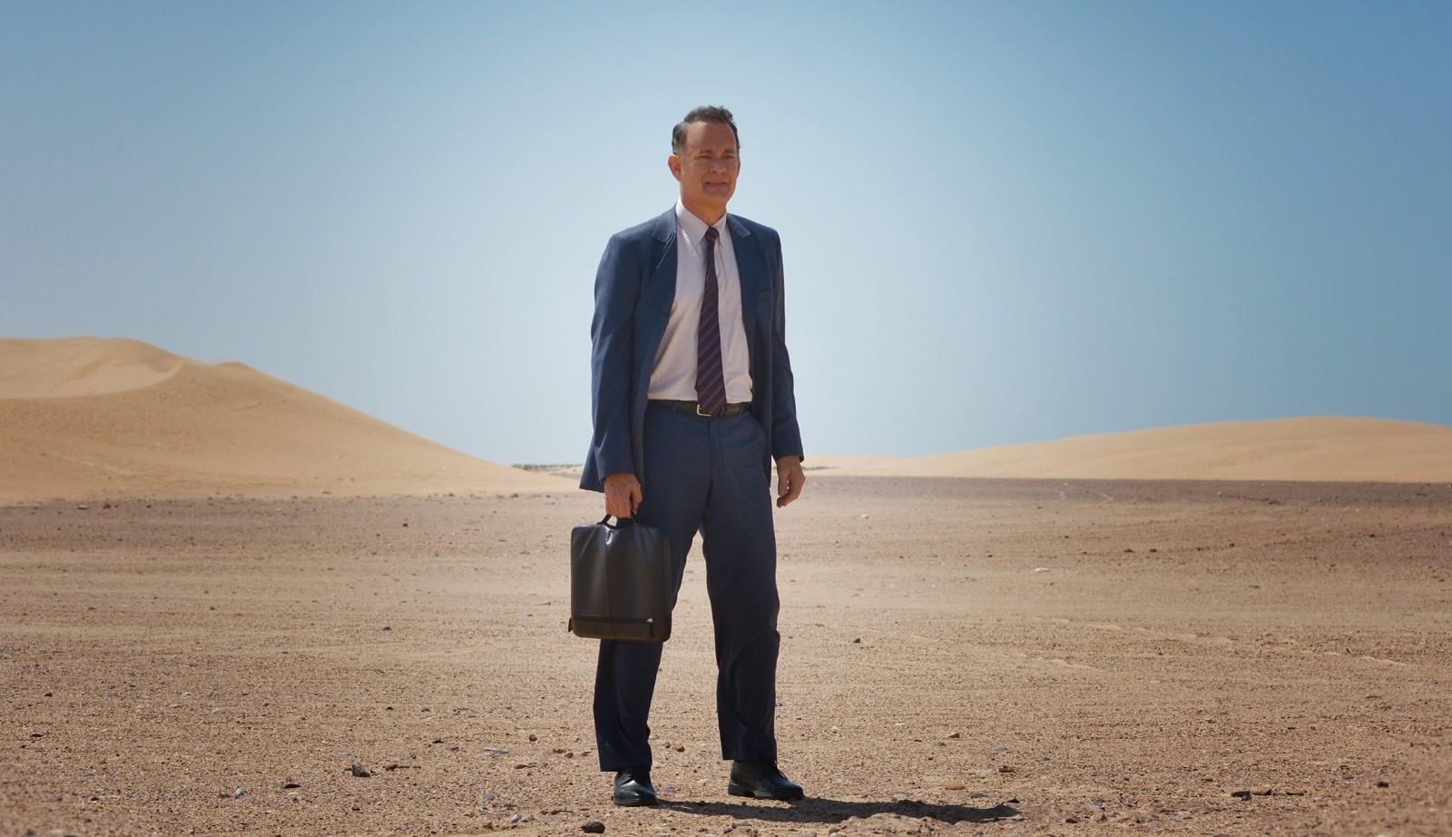 """Tom Hanks stars in """"A Hologram for the King."""""""