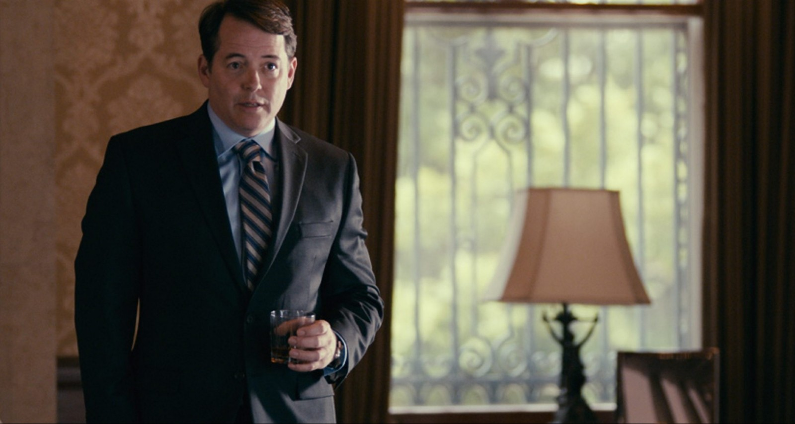 """Matthew Broderick in """"The American Side."""" (Photo by Frank Barerra)"""