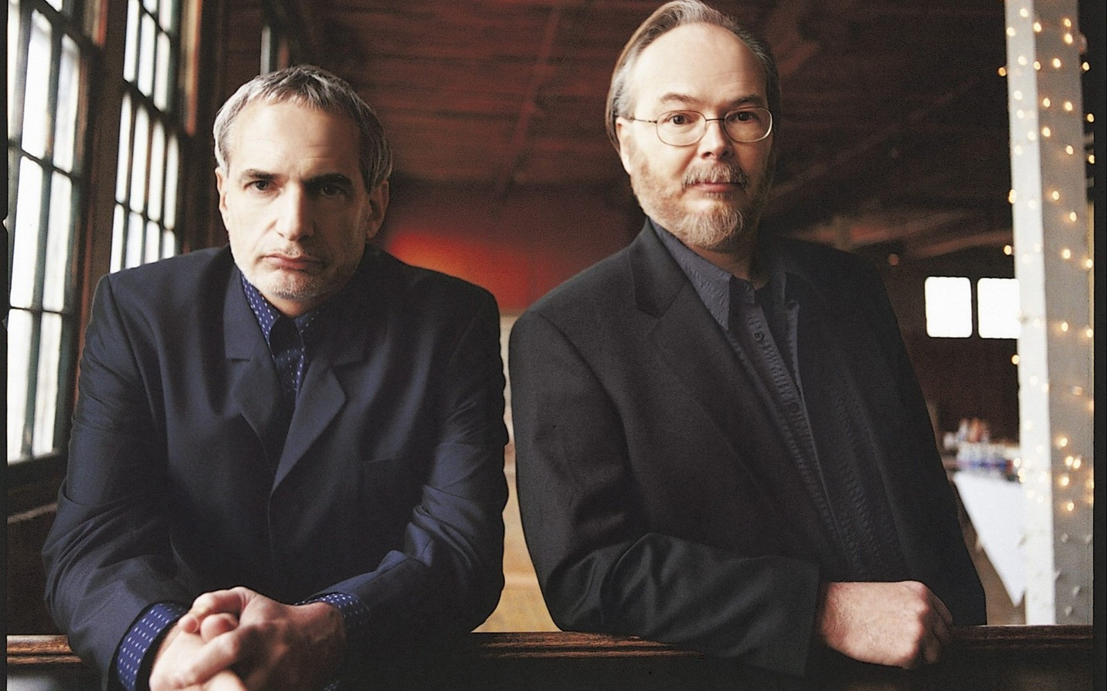 """Steely Dan - Donald Fagen, left, Walter Becker - brought their """"The Dan Who Knew Too Much"""" tour to the Seneca Niagara Casino Events Center on April 29."""