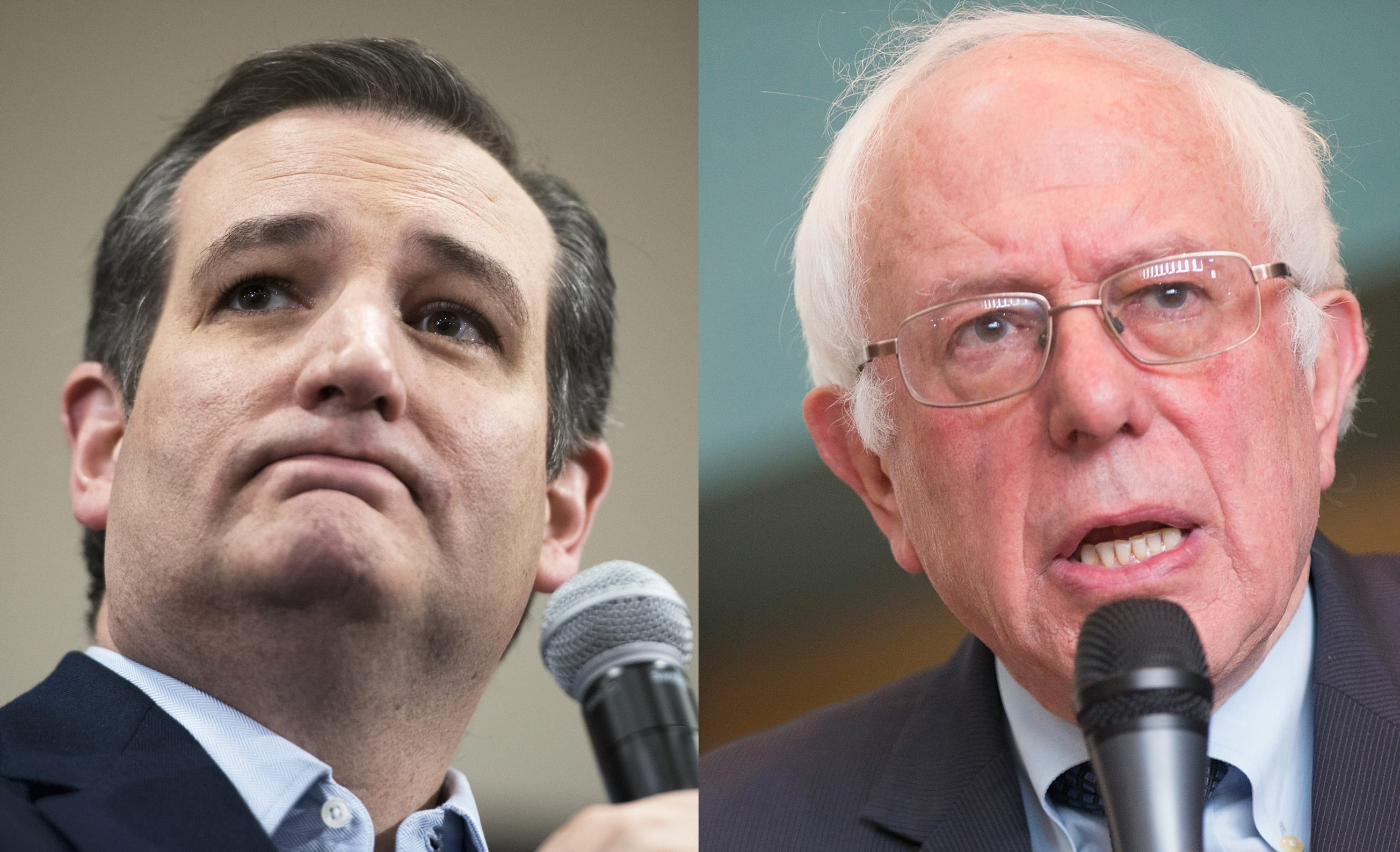 Sen. Ted Cruz and Sen. Bernie Sanders earned victories in Wisconsin on Tuesday.
