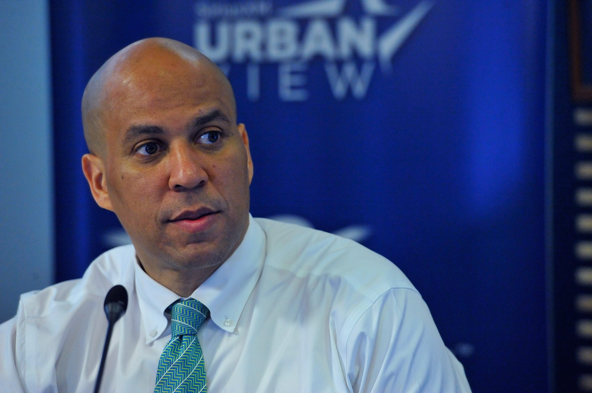 """I believe that we are losing, through policy choices, a lot of things that have made us great as a nation,"" said Sen. Cory Booker. (Getty Images)"