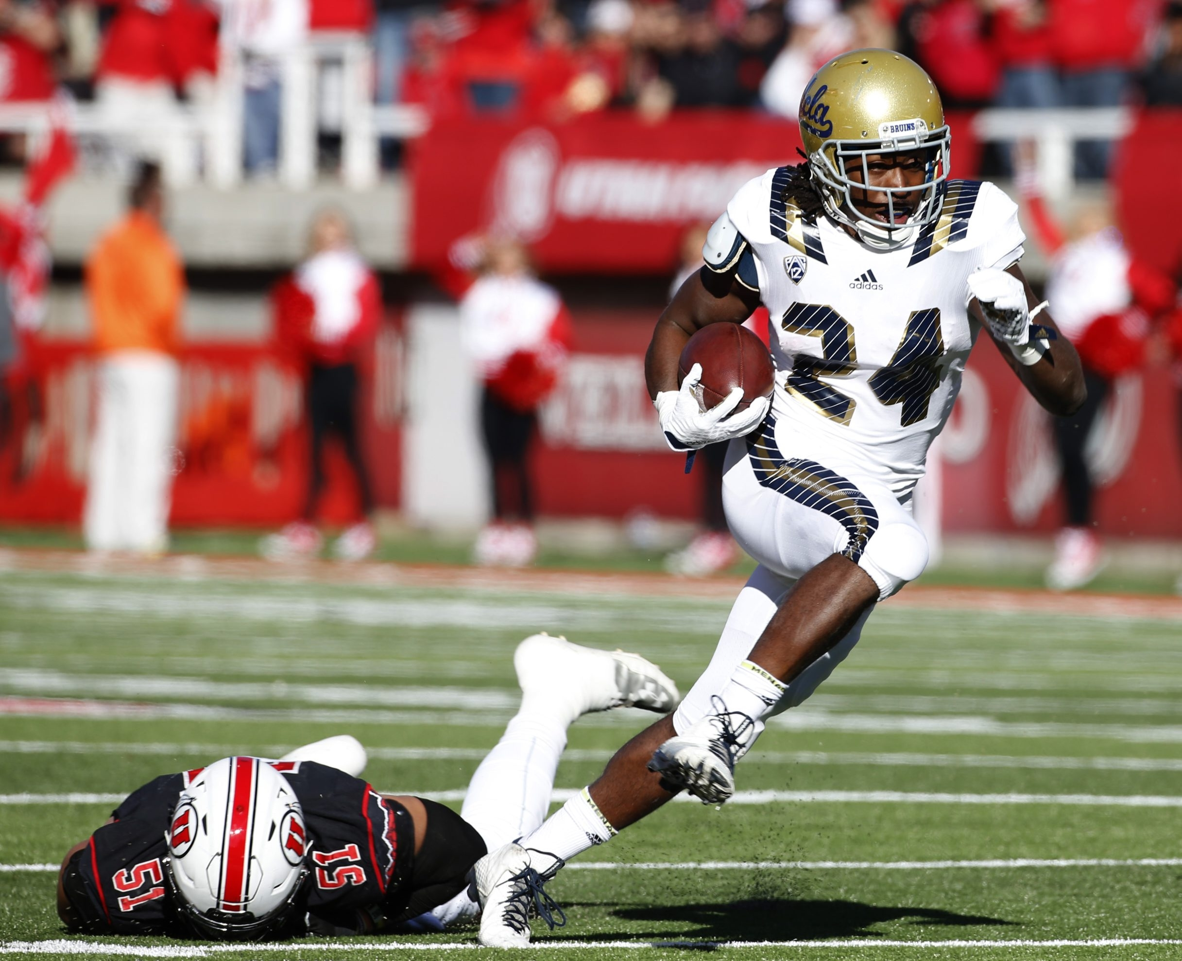 Paul Perkins was the first UCLA running back to lead the Pac-12 in rushing in 13 years in 2014 and had another good season in 2015.