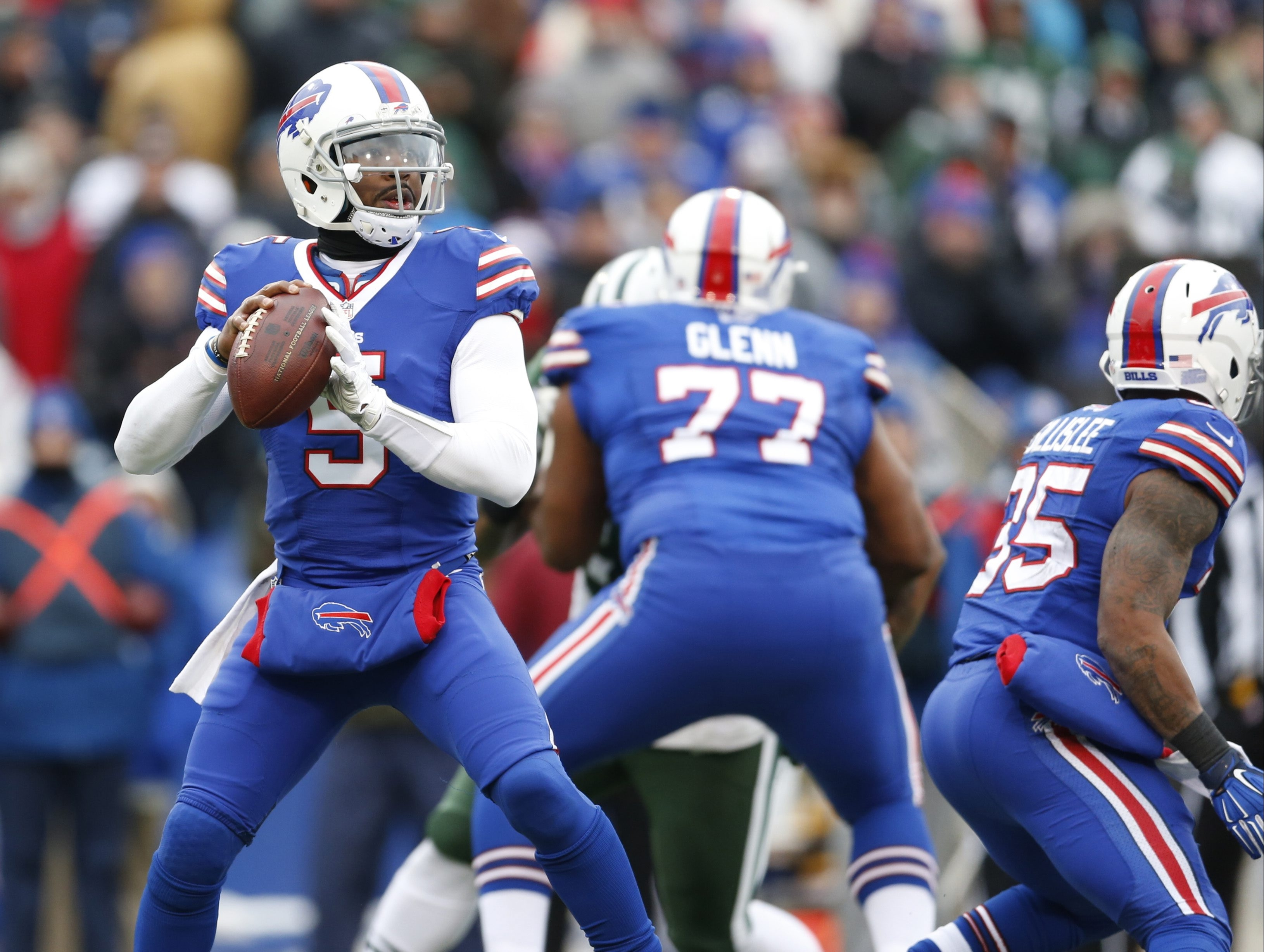 Tyrod Taylor's agent is eager for his client to get a contract extension.