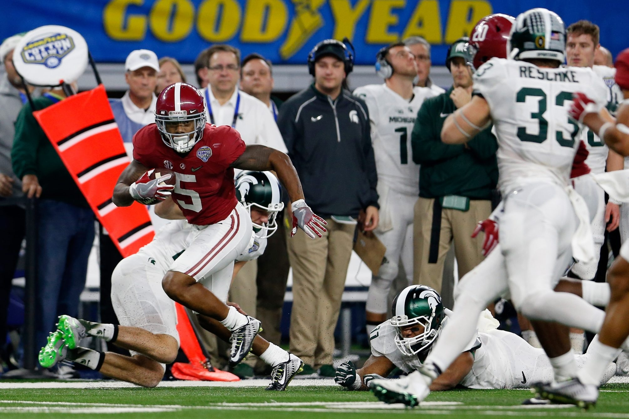 Cyrus Jones' ability to return punts adds to his versatility as an NFL prospect at the cornerback position.