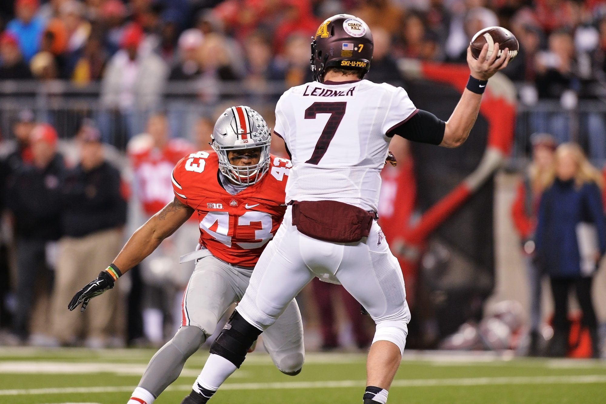 Darron Lee played two seasons at Ohio State and in that time the Buckeyes had a 26-2 record and one national title.