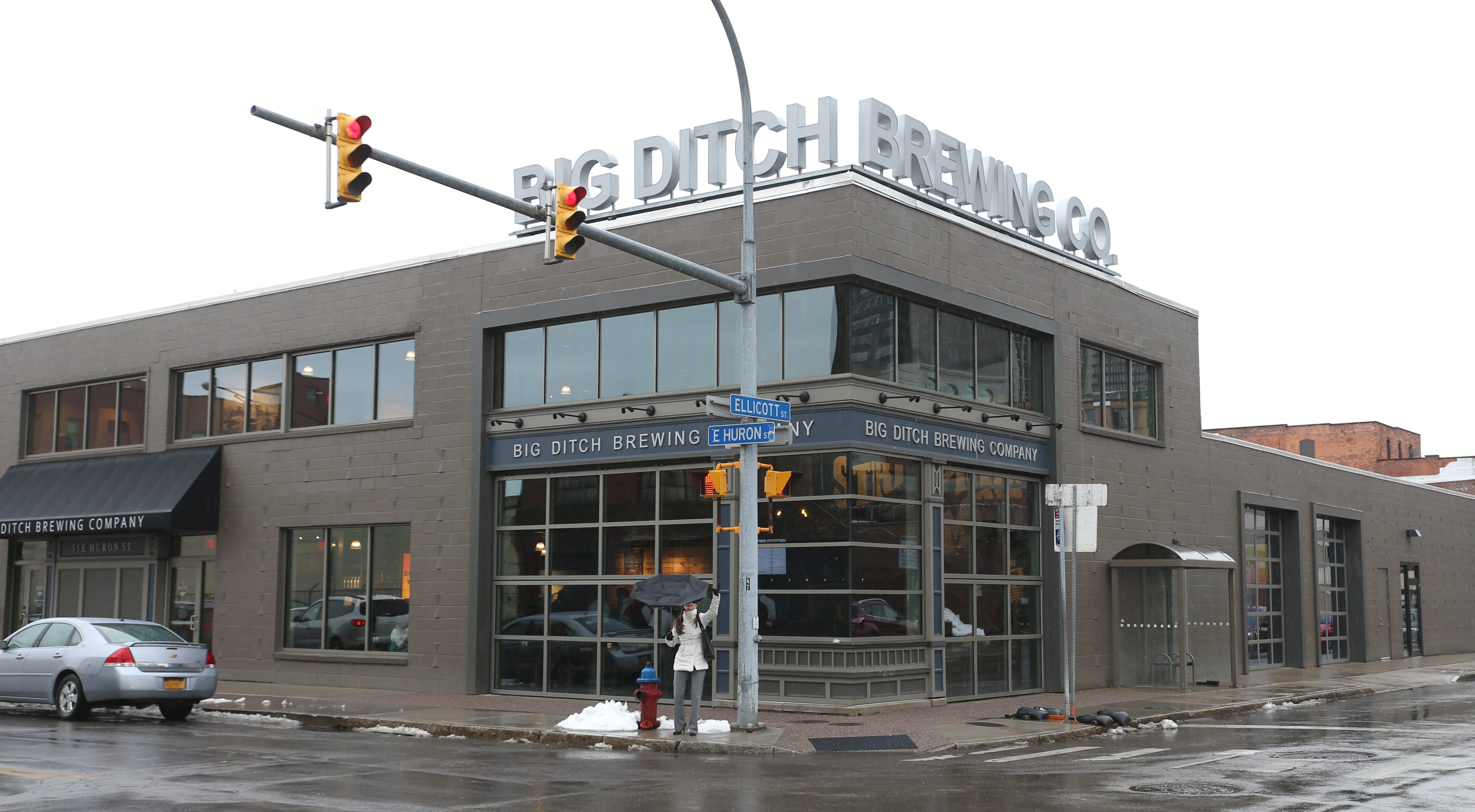 Big Ditch Brewing Co., at 55 East Huron St. in Buffalo, will use its loan to triple its brewing capacity and add a canning line that will enable the craft brewer to sell its beer at grocery stores, possibly including Wegmans, and at beverage centers.