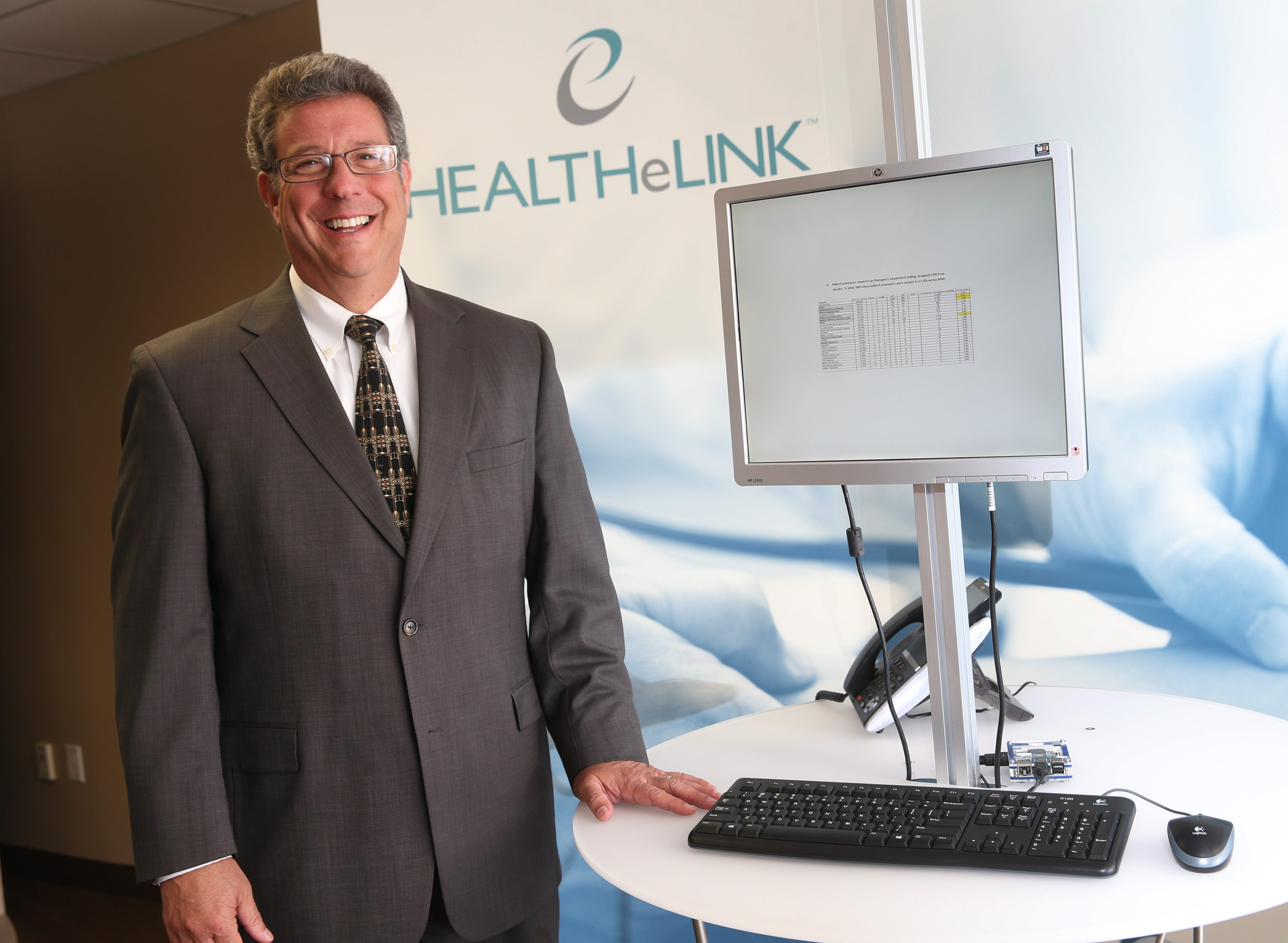 """""""It's kind of obvious that if doctors have better information, they can make better decisions."""" – Daniel Porreca, executive director of HEALTHeLINK"""