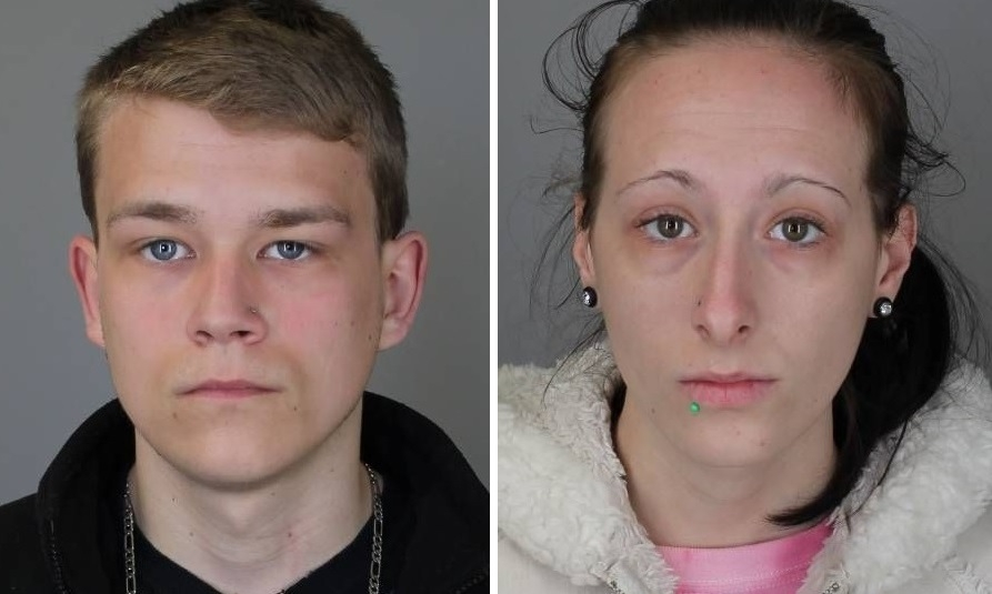 Tyler J. Carson, 18, and Tylyne N. Lapaglia, 23, of North Tonawanda, have been charged with breaking into the harbor master's building at Gateway Harbor Park in the City of Tonawanda twice in early April. (City of Tonawanda Police)