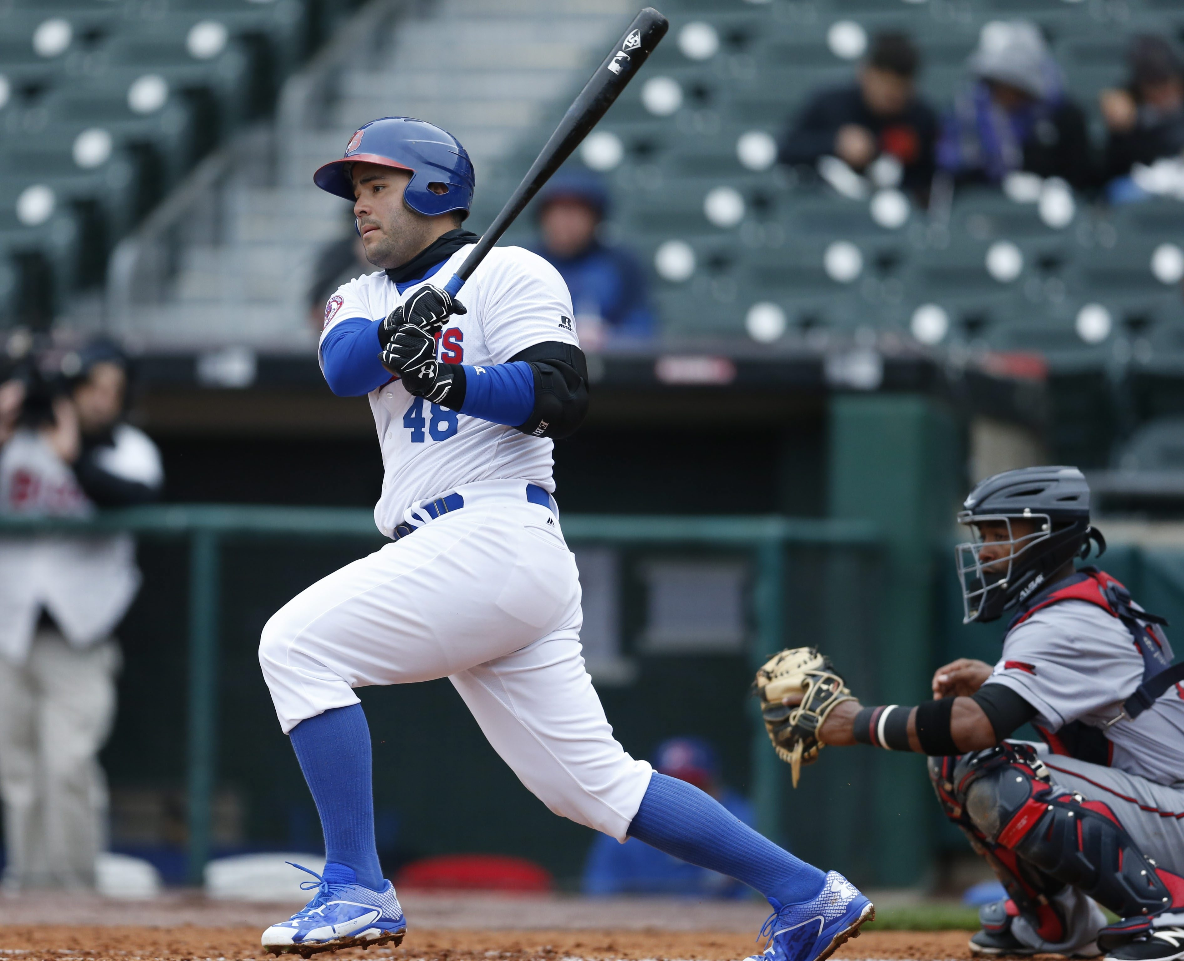 The Bisons' Jesus Montero has been producing at the plate.