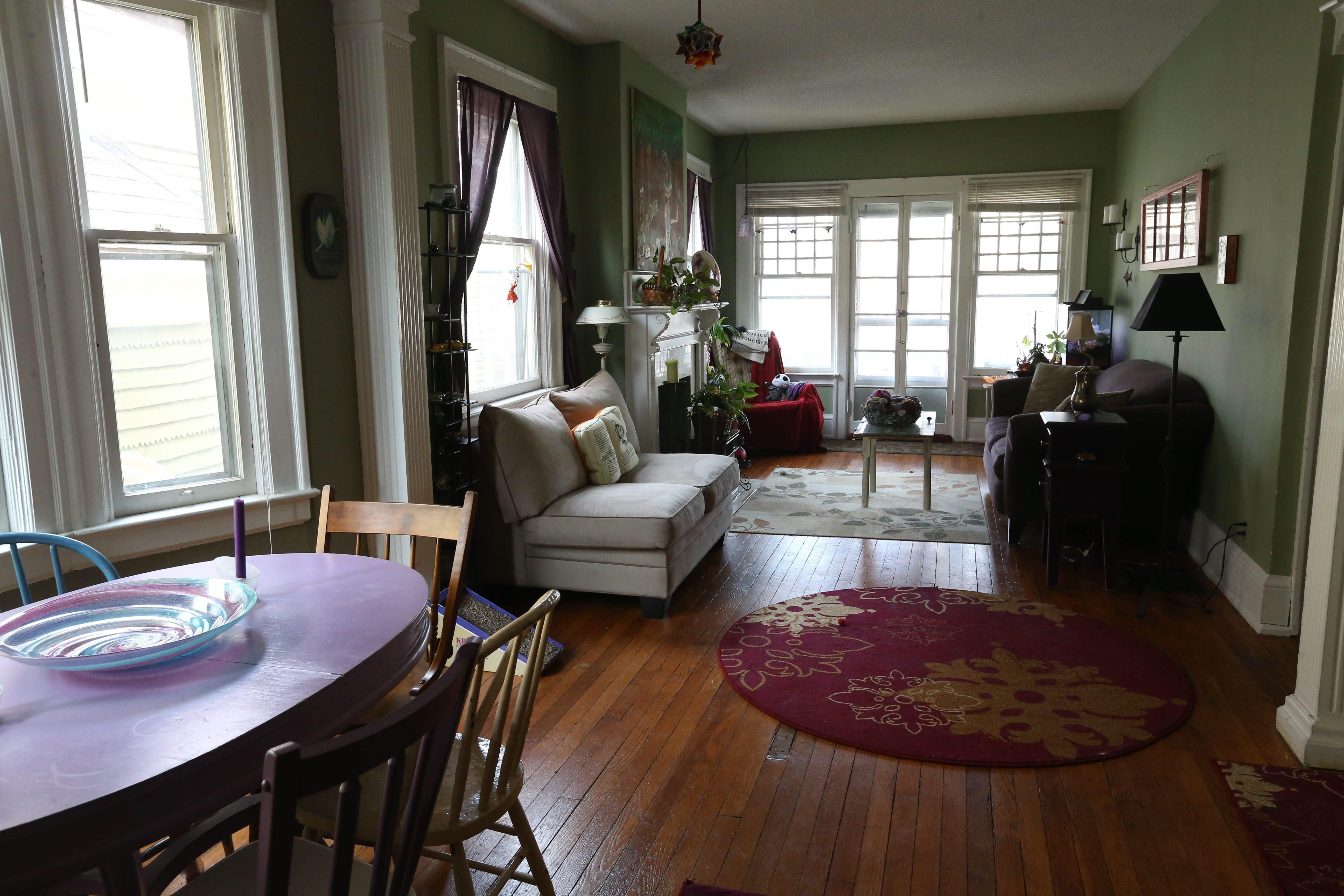 Living Room Furniture For By Owner The Elmwood Village Apartment Of Shop Owner Therese Deutschlander
