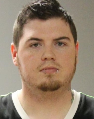 Donald G. Howe Jr., 30, of Delevan, has been charged with giving a minor a tattoo in exchange for oral sex. (State Police)
