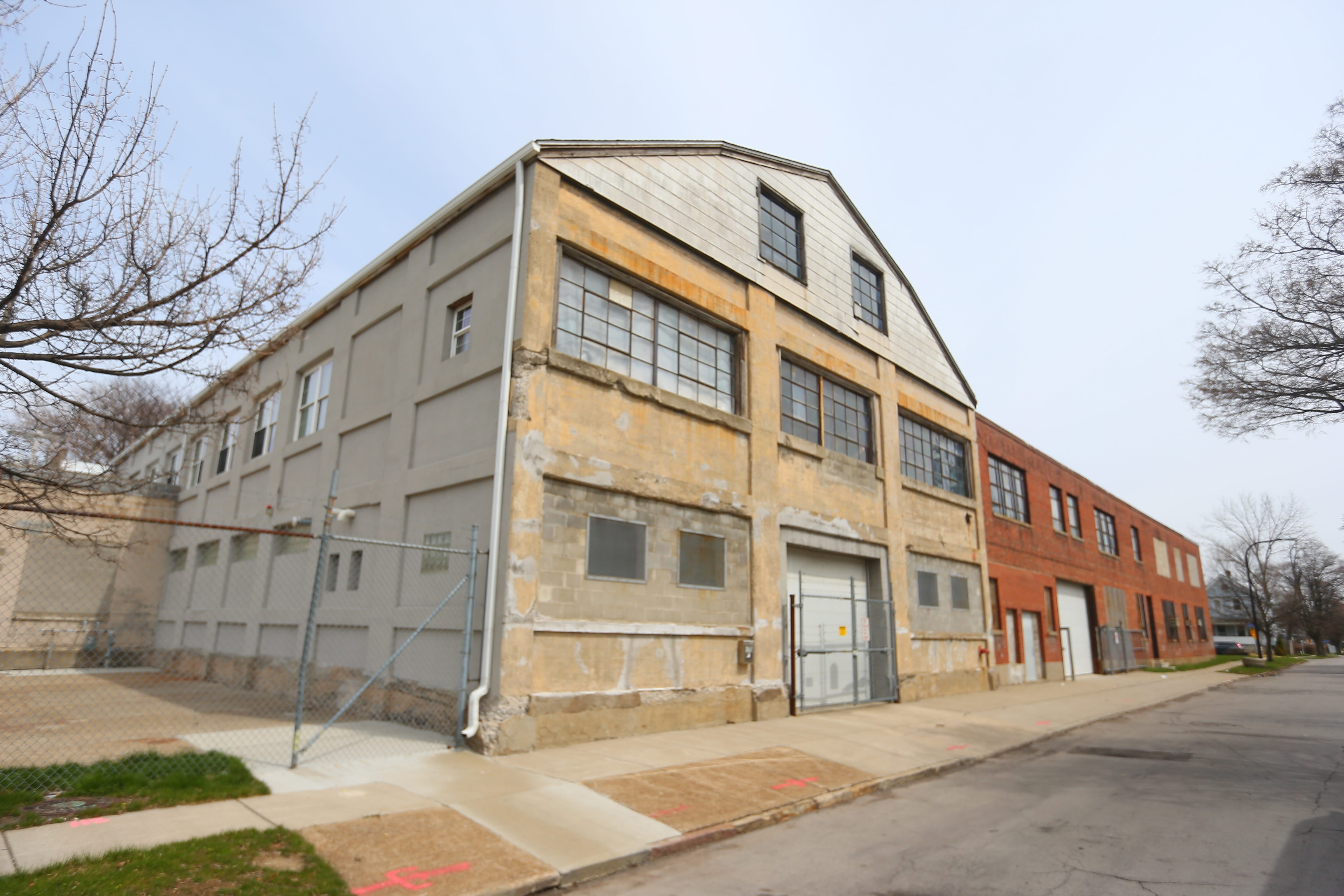The former George A. Otis Bed Manufacturing building at 170 Florida St. in Buffalo may be converted into apartments. (John Hickey/Buffalo News)