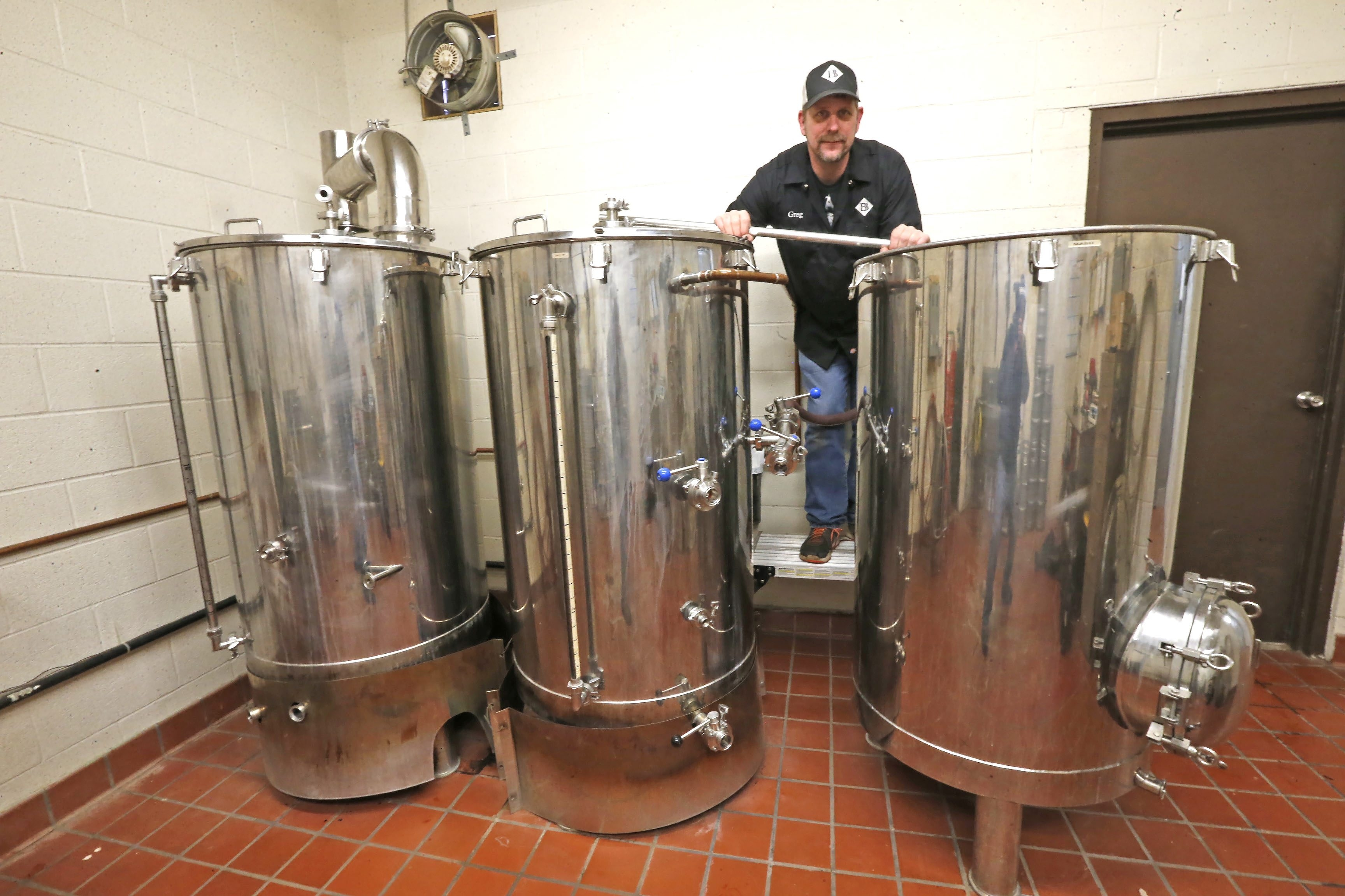 Barker Brewing owner Greg Goodlander is eager to get started on an expansion since he's running out of room and can't keep up with the demand. He recently signed a purchase agreement with Village of Barker to buy more of the former Birds Eye site.