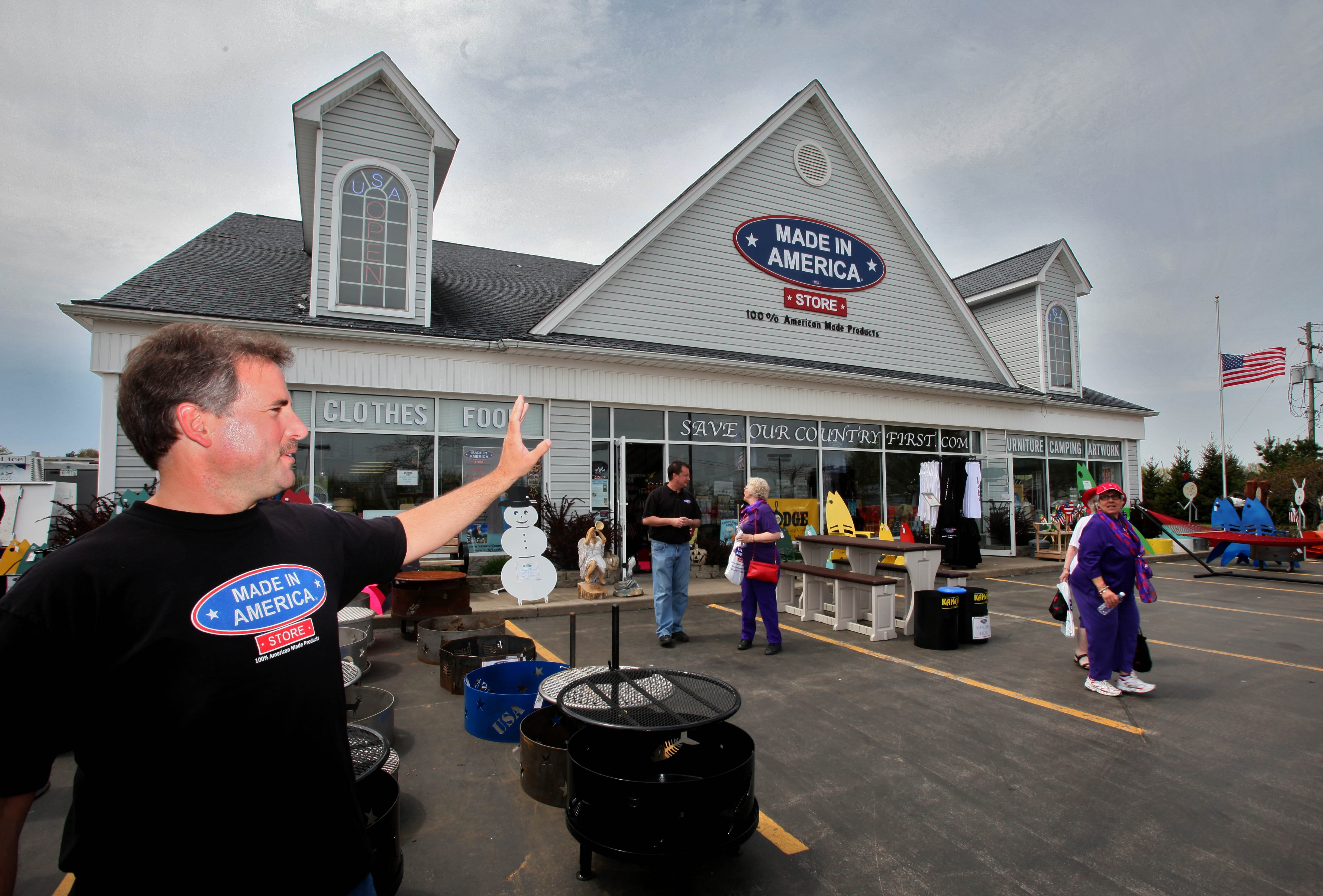 Mark Andol's Made in America Store in Elma has been expanded to three times its original square footage, seen here in a photo from 2011.