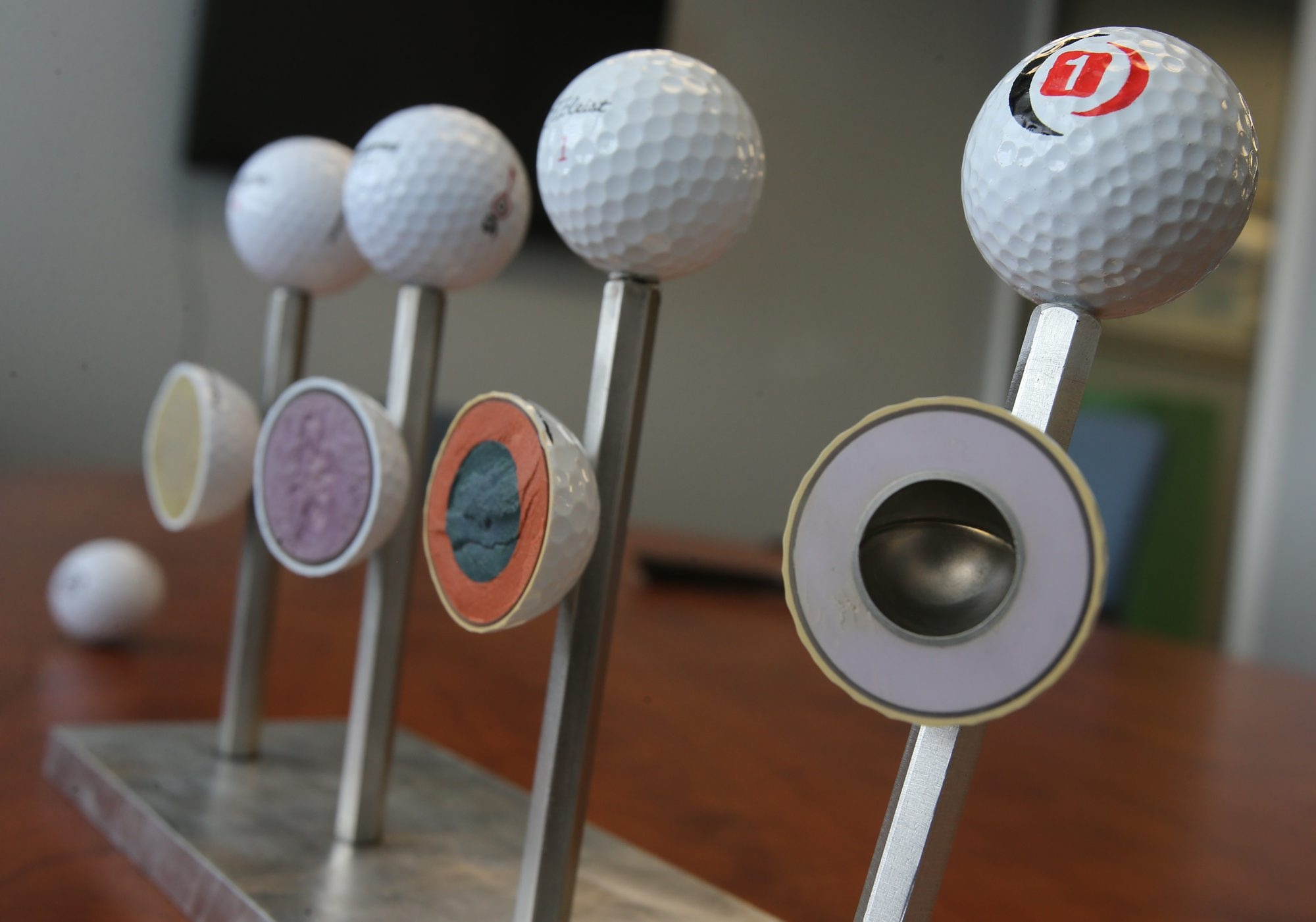 Buffalo-based OnCore Golf first made inroads into the ball market with its metal-core model.
