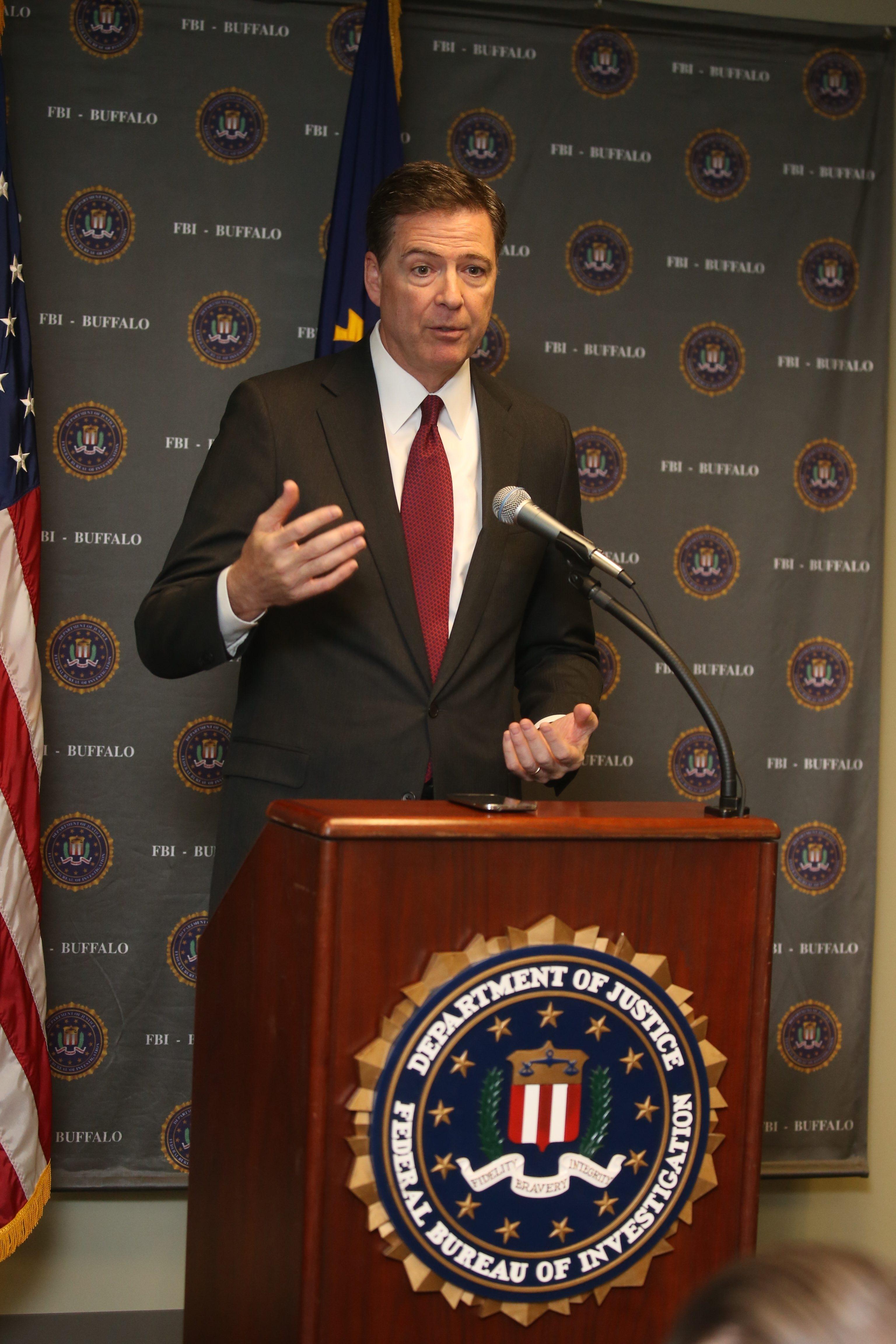 FBI Director James B. Comey Jr.