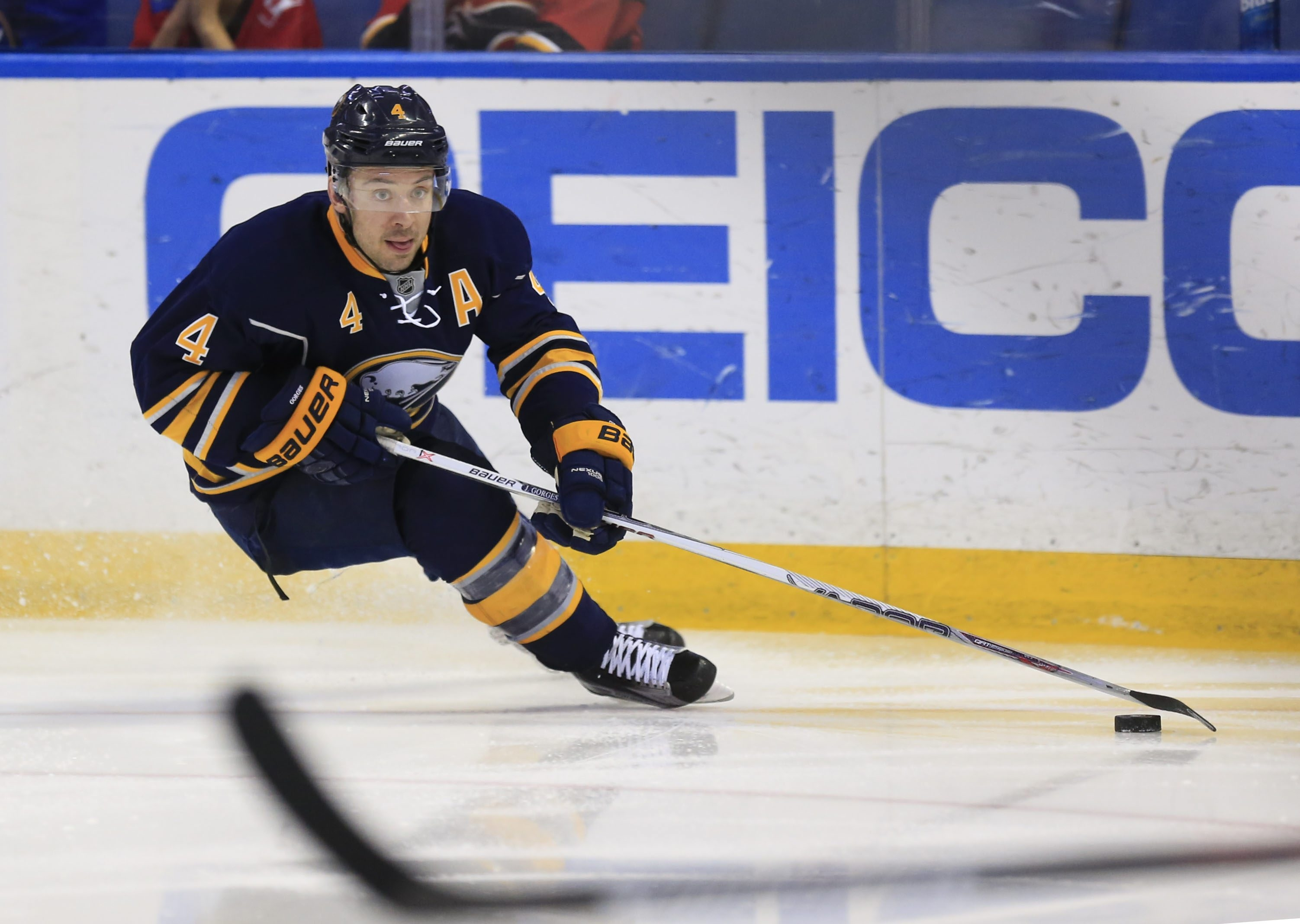 Sabres veteran defenseman Josh Gorges says the team is headed in the right direction.