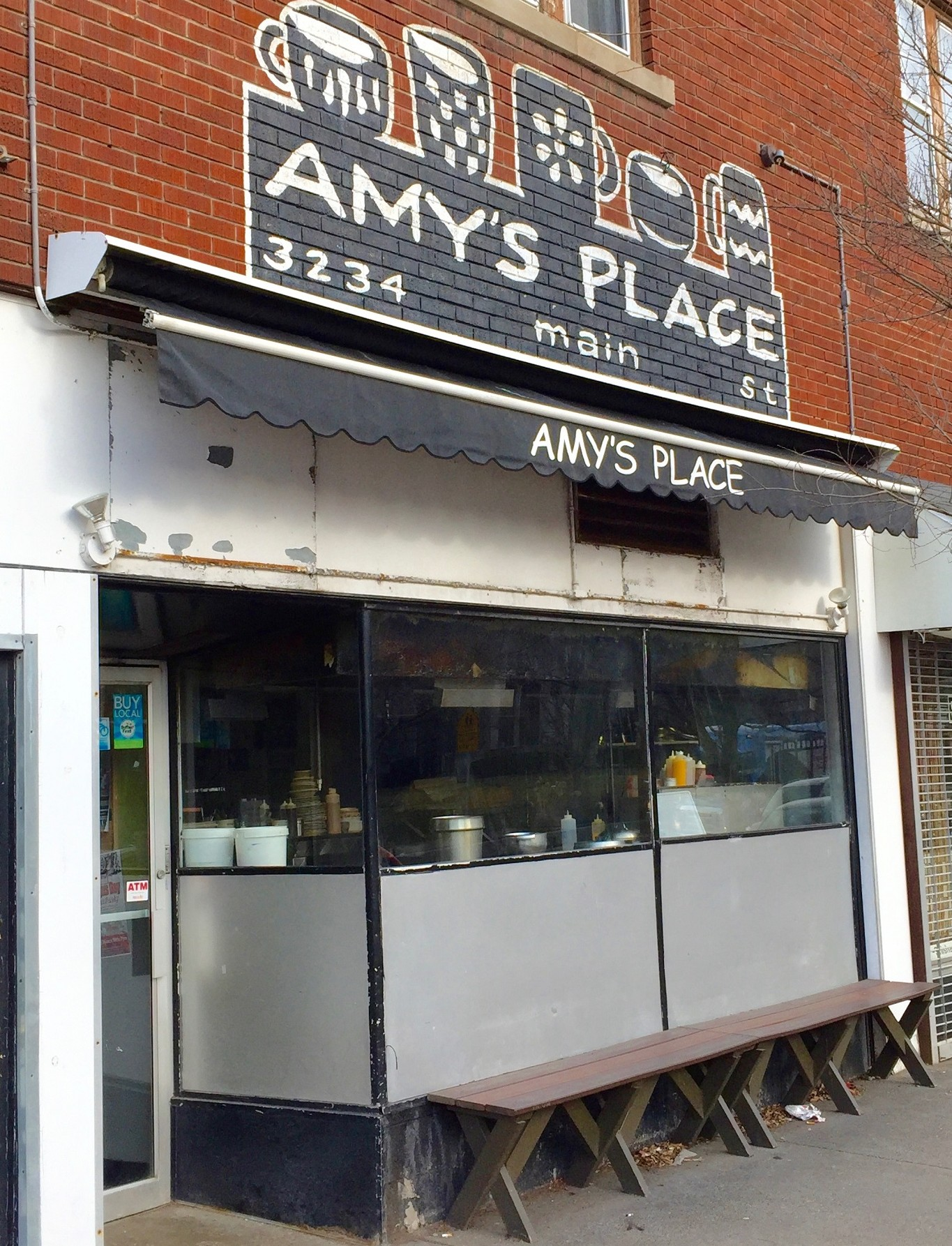 The exterior of Amy's Place at 3234 Main St. (Alex Mikol/Special to The News)
