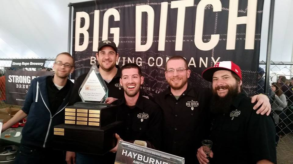 Big Ditch Brewery won two awards at the recent TAP Festival.