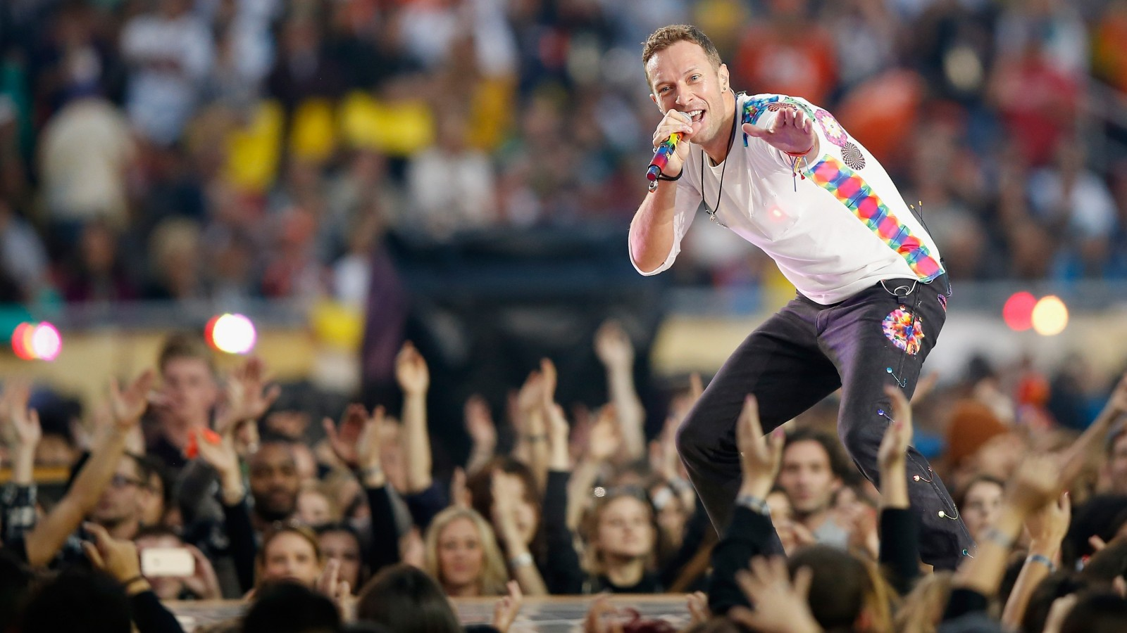 Buy a VIP package and get a seat up close at a Coldplay concert. (Getty Images)