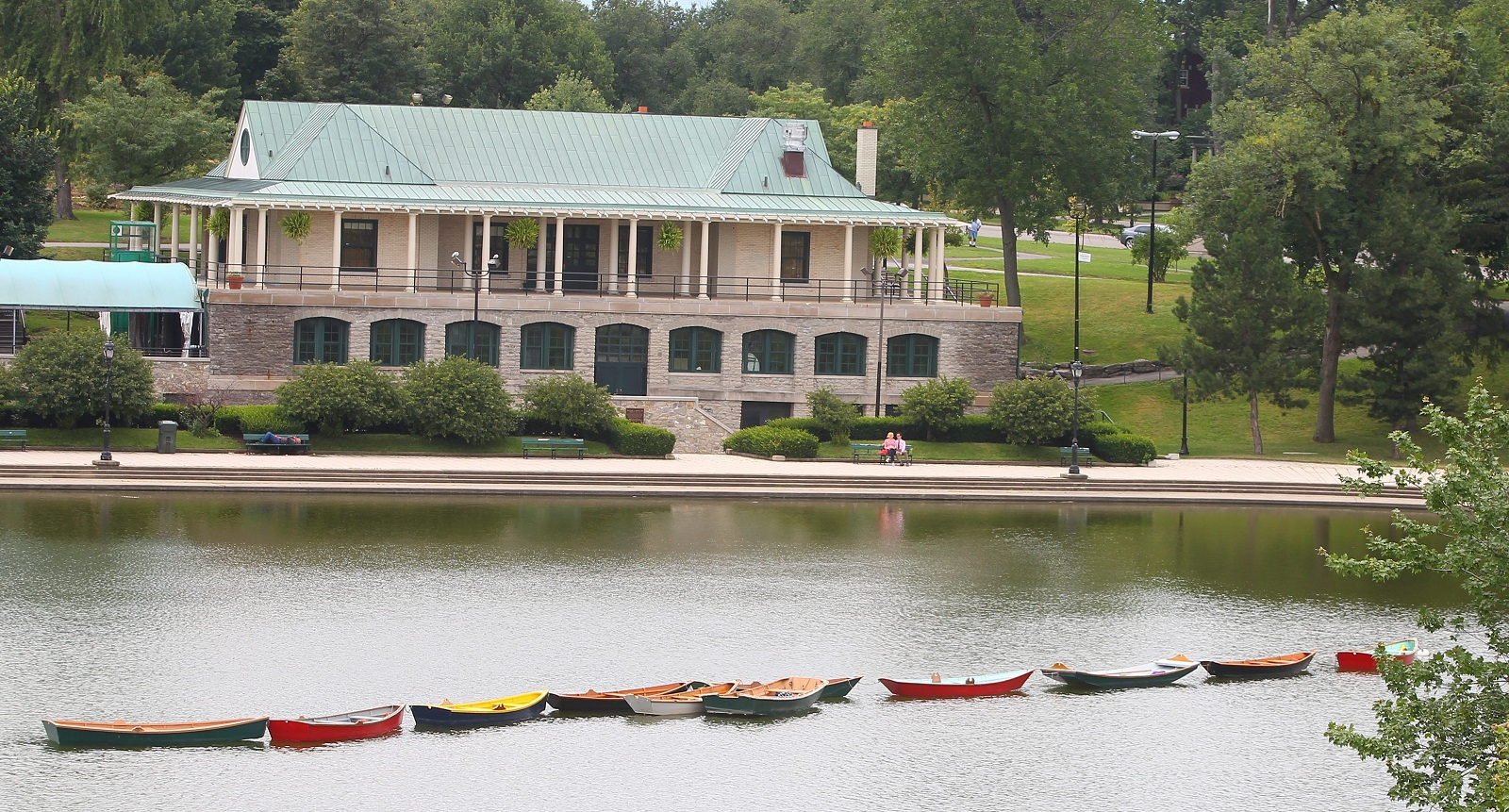 The Marcy Casino in Delaware Park (John Hickey/Buffalo News file photo)