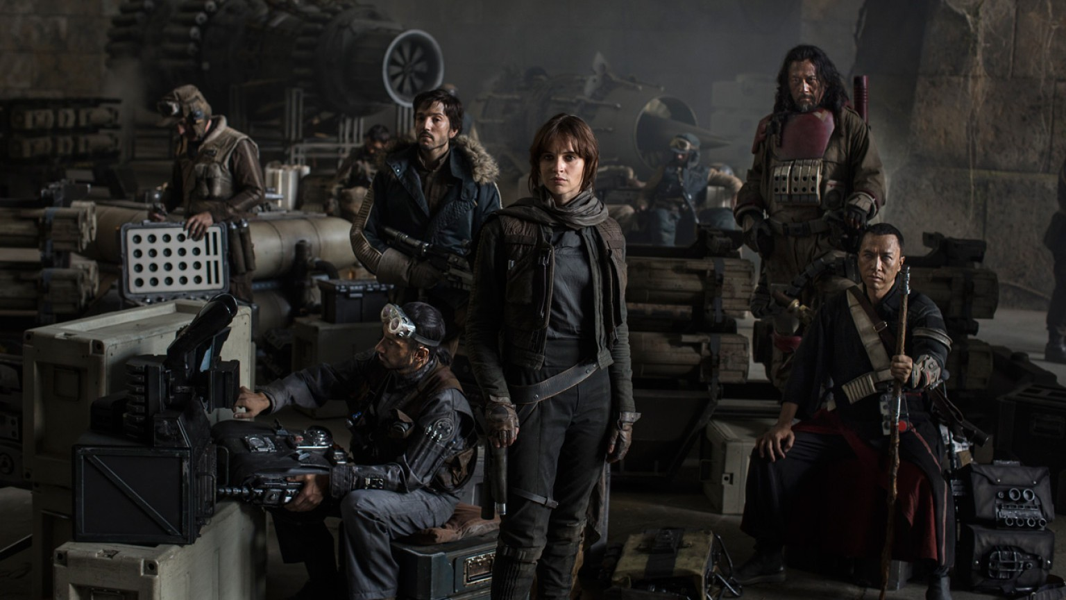 The cast of 'Rogue One: A Star Wars Story.' (Lucasfilm Ltd.)