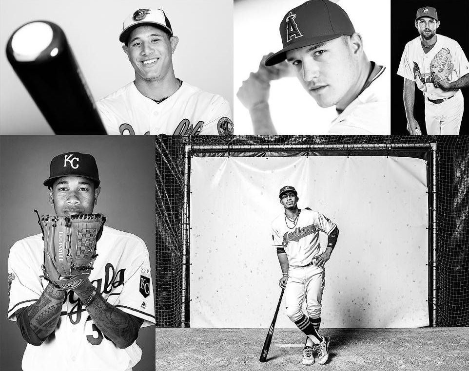 Baseball seems full of young, talented stars. See below for full picture, layout and names. (Getty Images)