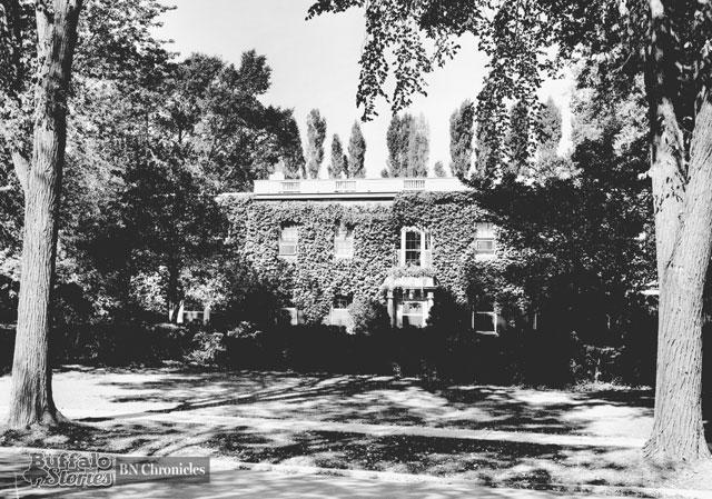 Germain's Nottingham Terrace home. (Buffalo News archives)