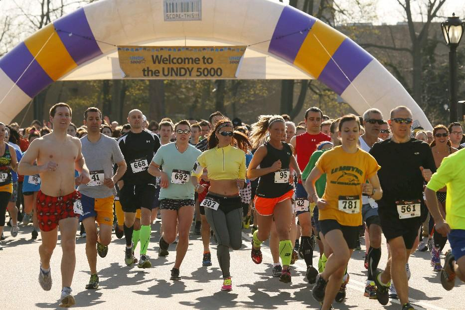 You don't have to run in your undies Saturday during the Undy 5K Run/1-Mile Walk, but you can. (Derek Gee/Buffalo News file photo)