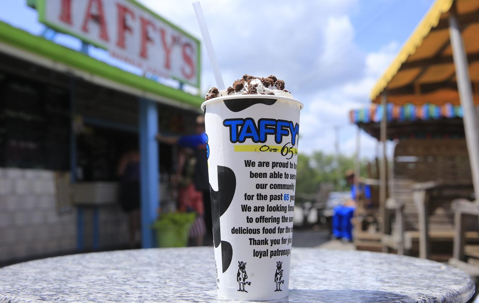 A milkshake at Taffy's. (Harry Scull Jr./Buffalo News file photo)